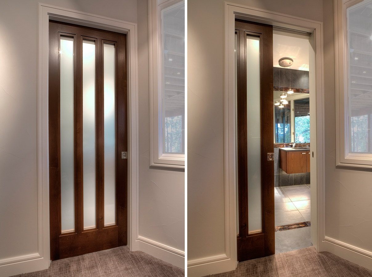 Pocket Door With Glass For Bathroom