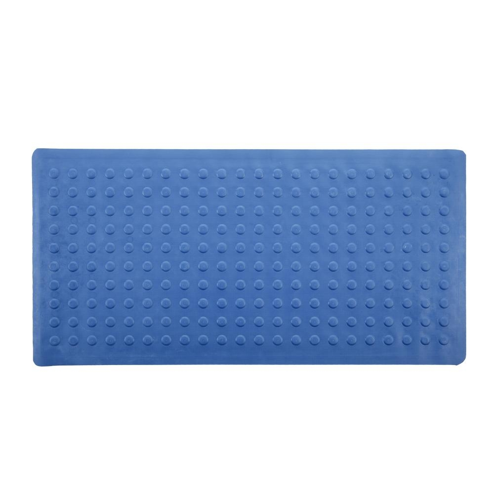Rubber Bath Mat Blue1000 X 1000