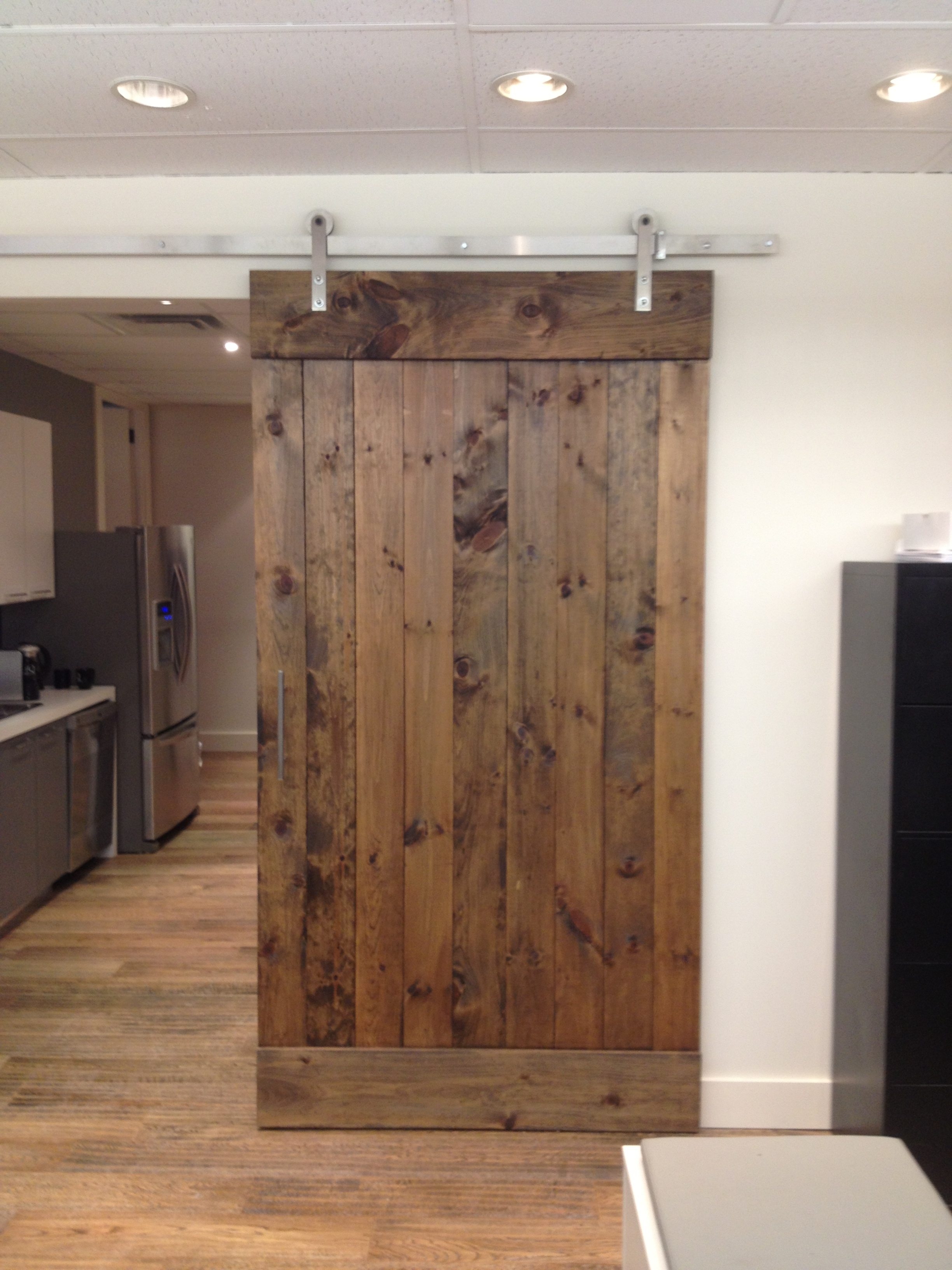 Permalink to Sliding Barn Door Bathroom Door