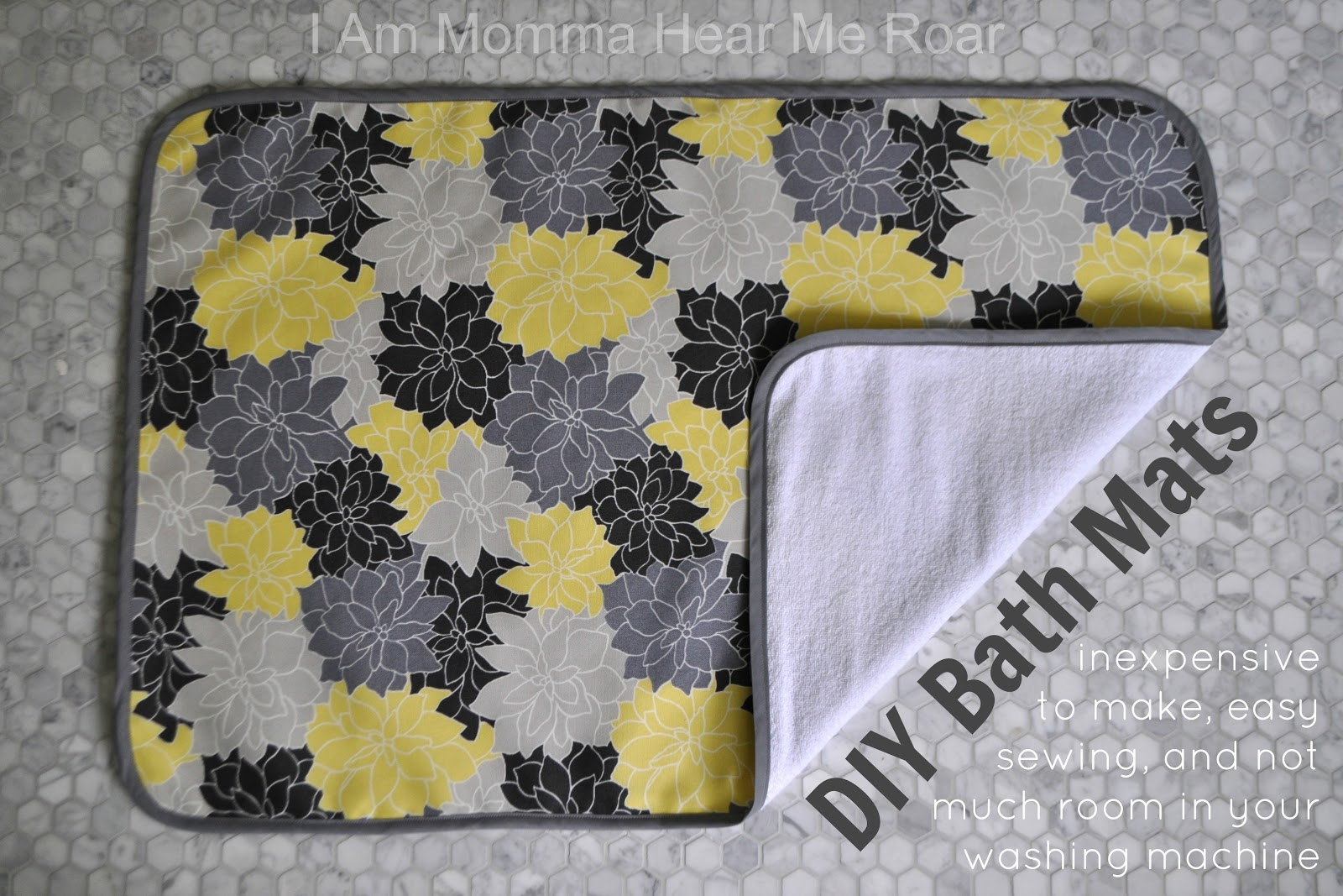 Terry Cloth Bath Tub Mats