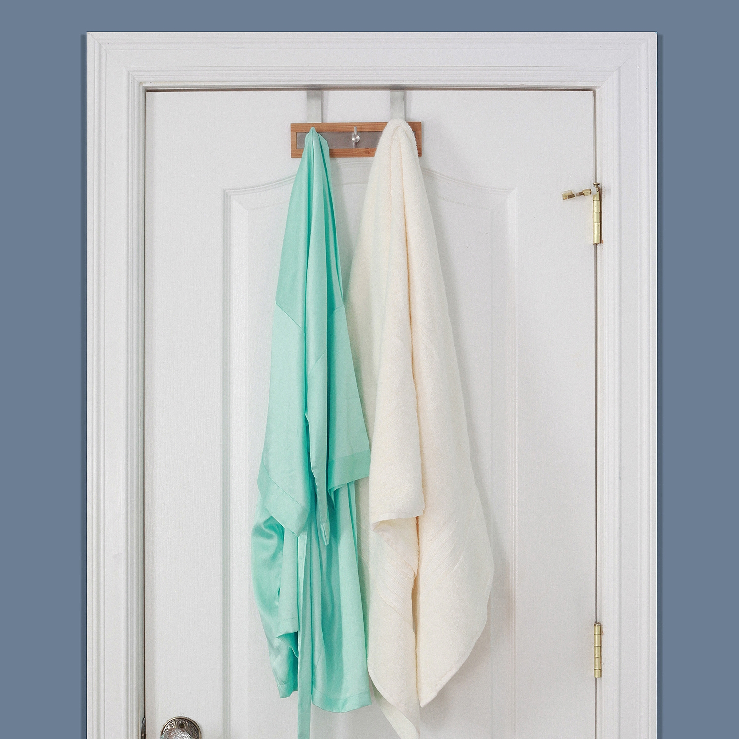 Towel Holder For Bathroom Door