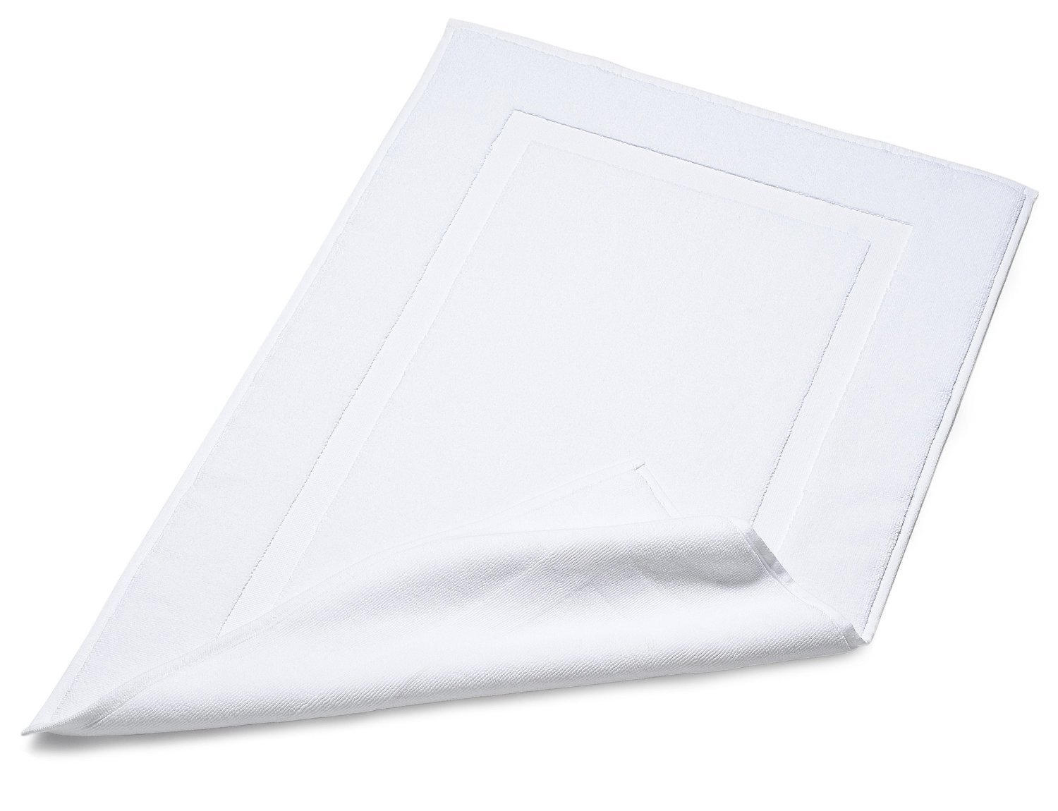 White Bath Mat Hotel