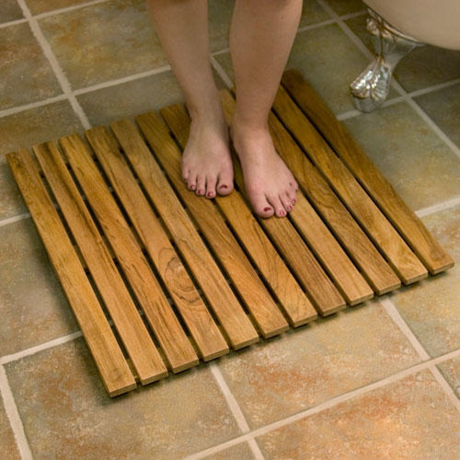 Wooden Bath Mat Small1500 X 1500