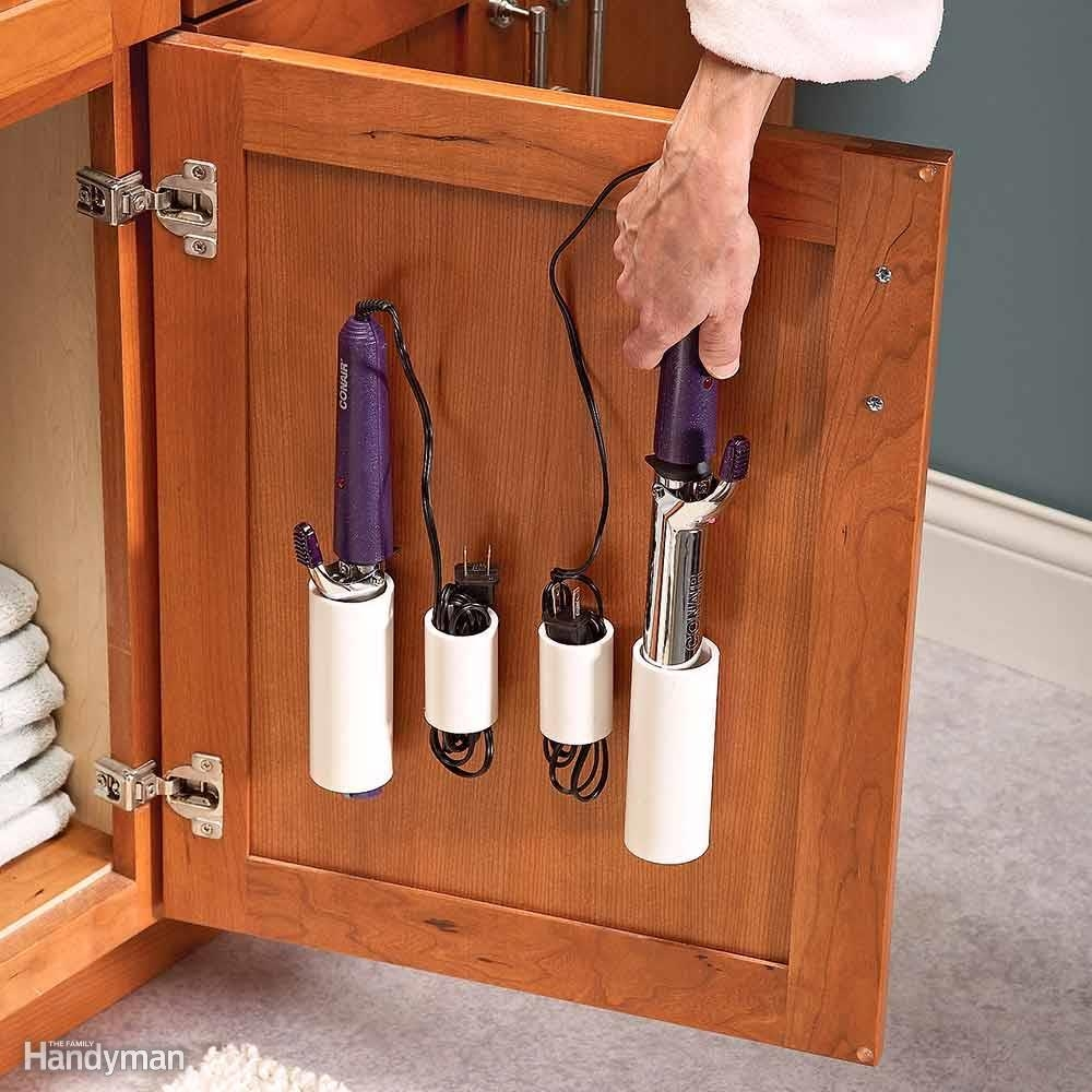 Bathroom Cabinet Door Storage