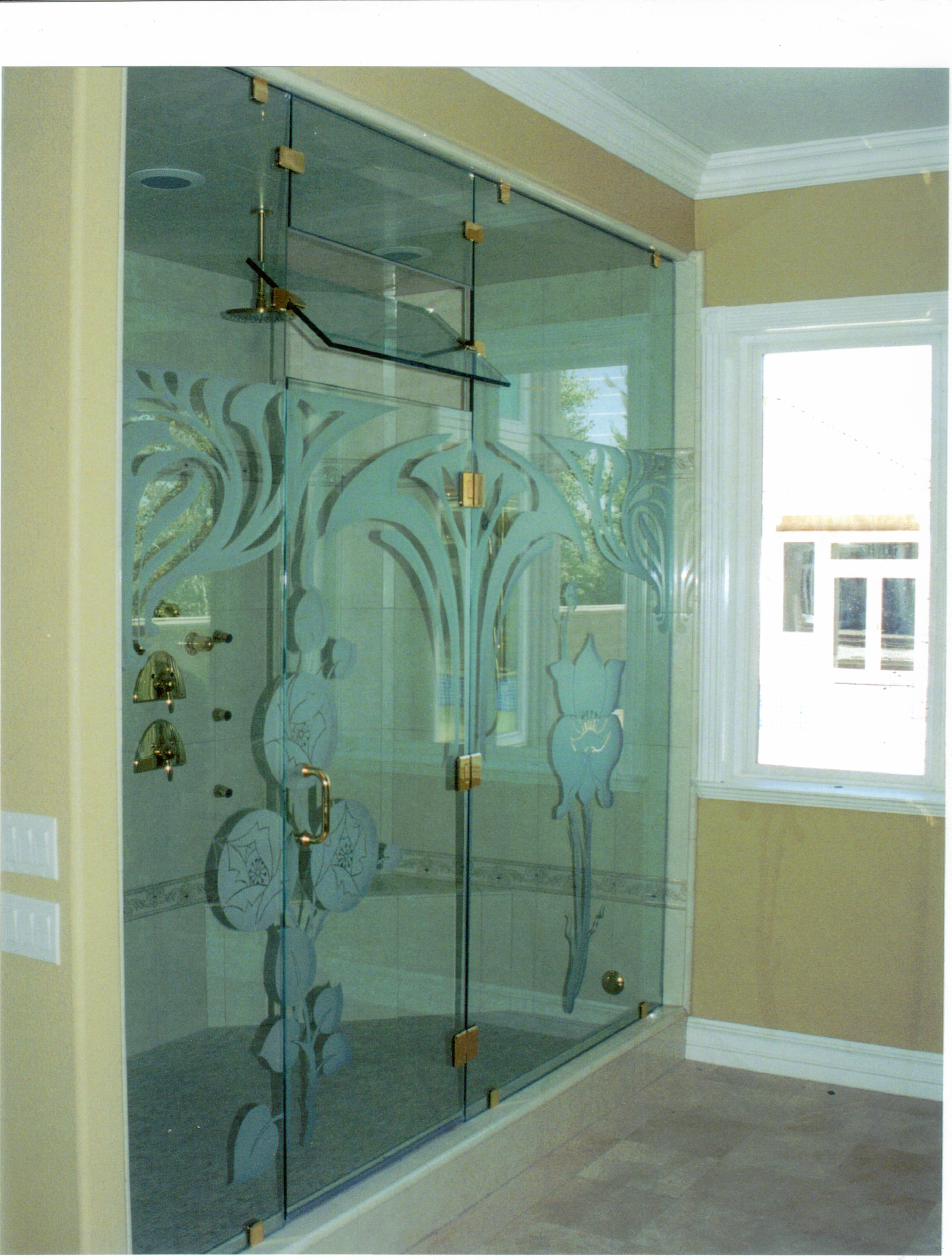 Bathroom Glass Designs Doors