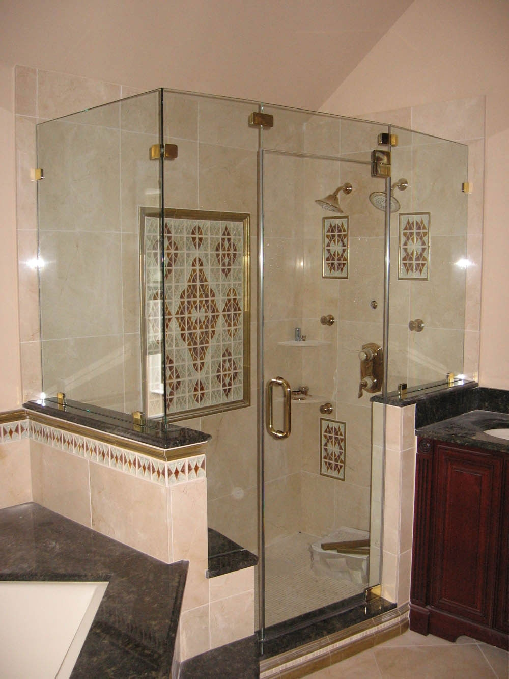 Permalink to Bathroom Glass Shower Doors