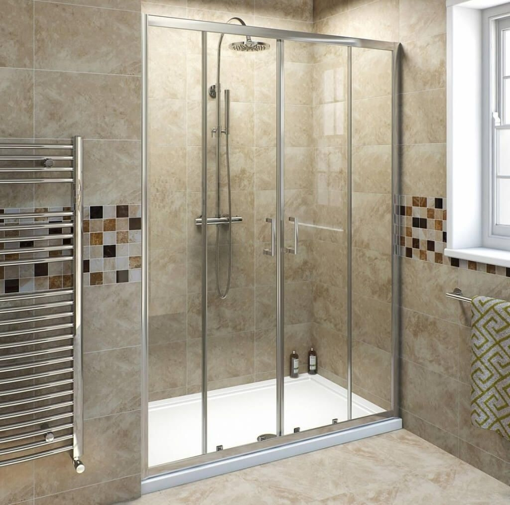 Permalink to Decorating Bathroom With Sliding Shower Doors