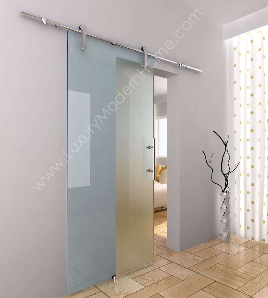 Permalink to Glass Barn Doors For Bathroom