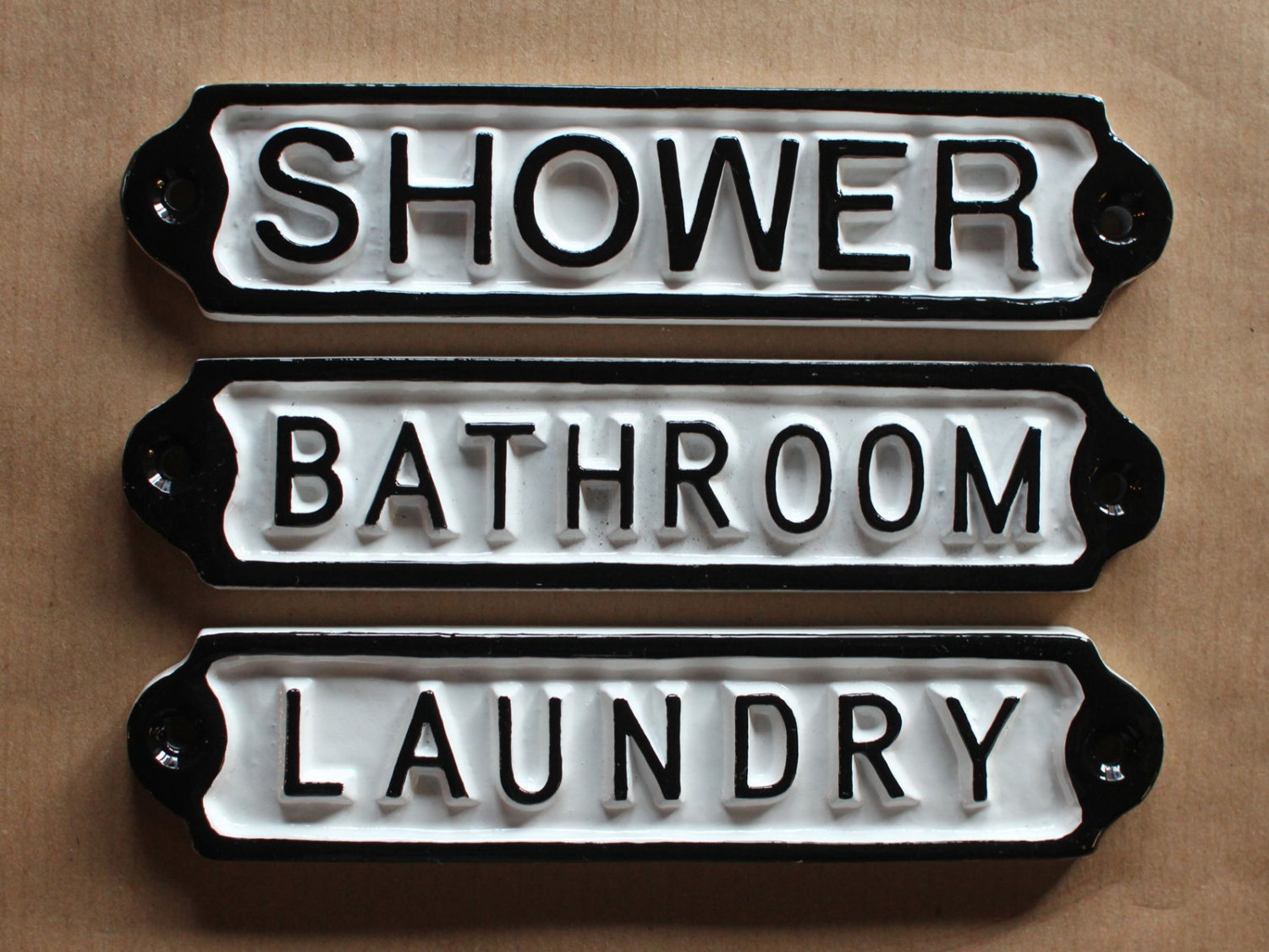 Permalink to Metal Bathroom Door Signs