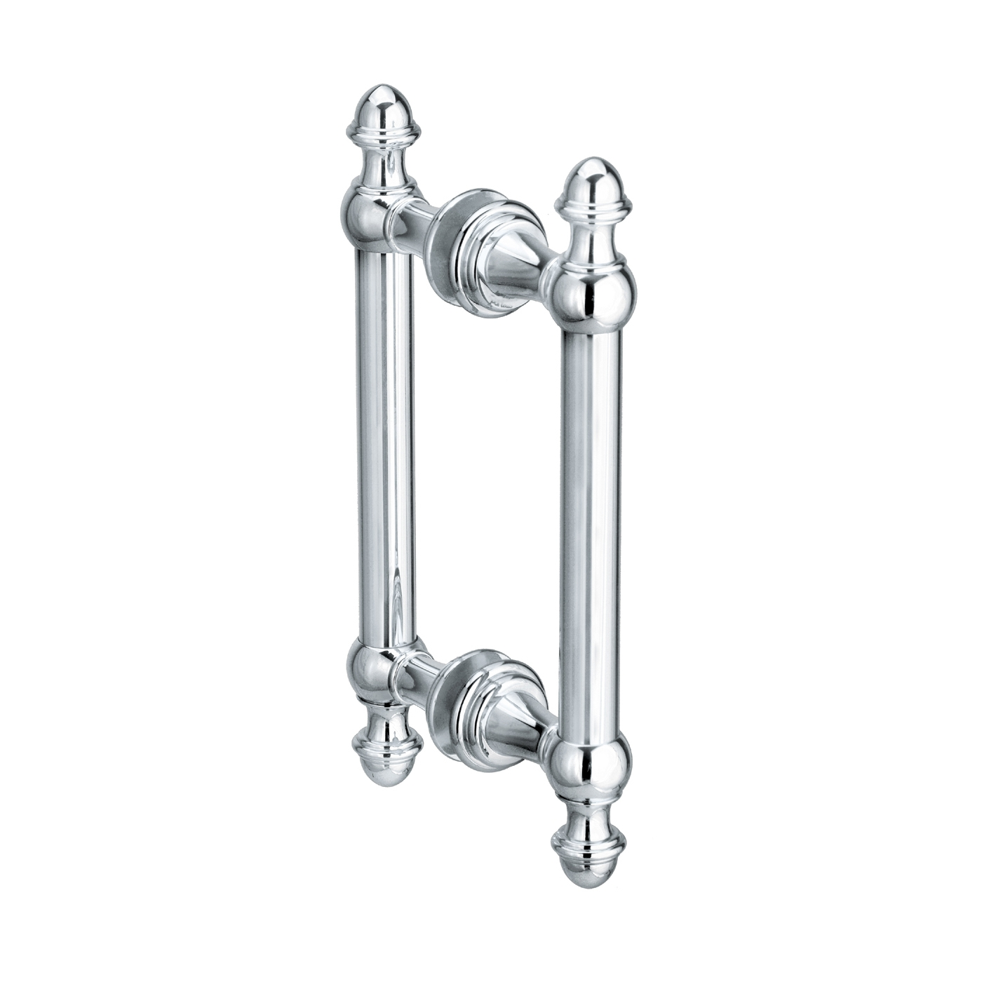 Shower Door Handles Polished Nickelportals hardware l1111 symphony shower door double pull the mine