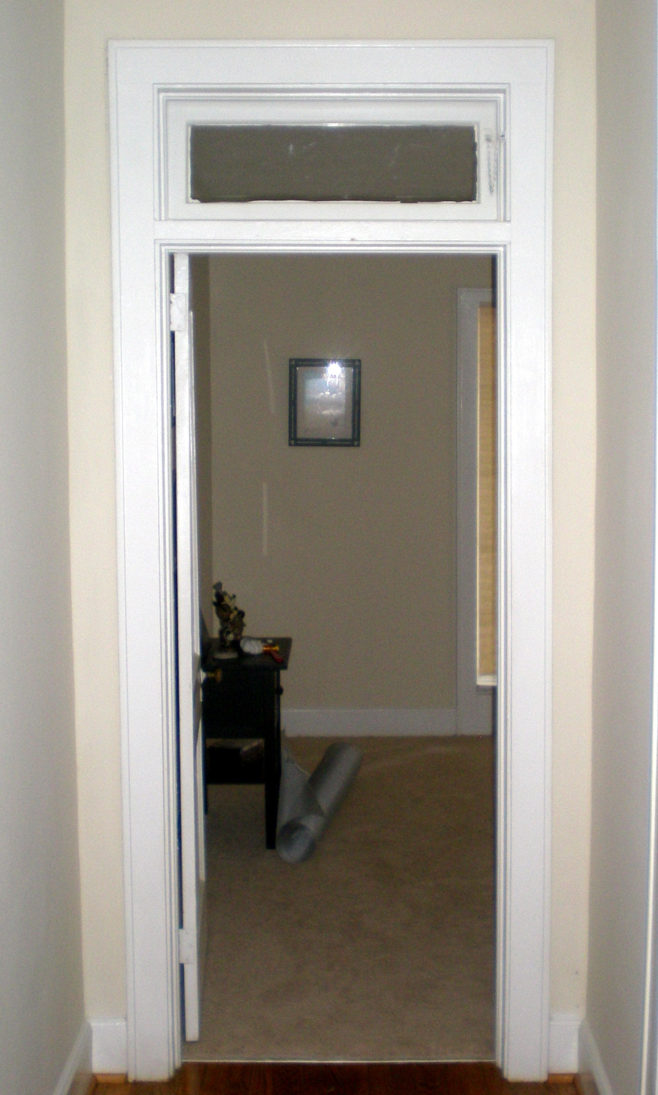 Transom Window Over Bathroom Doortransom window that opens would be nice and practical above