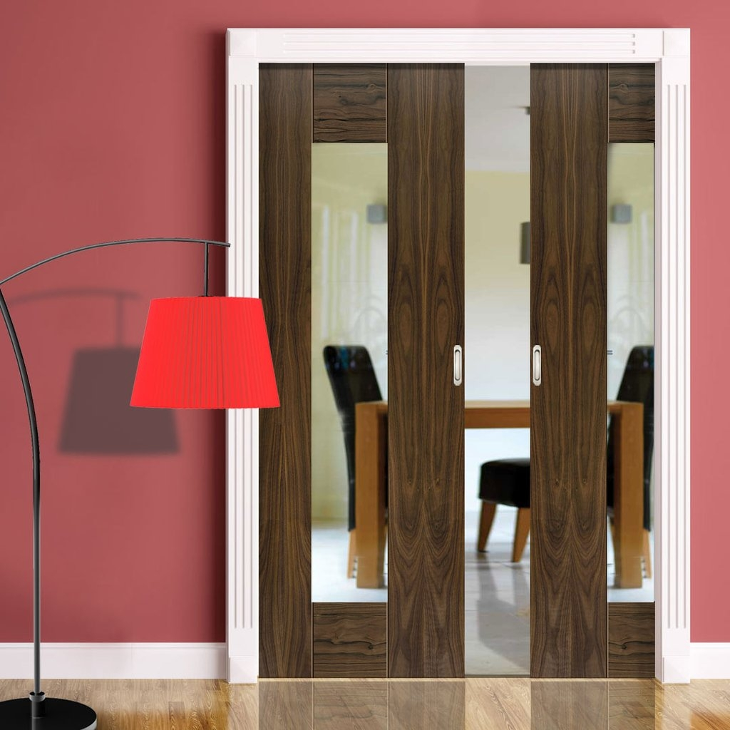 Double Pocket Door Pictures