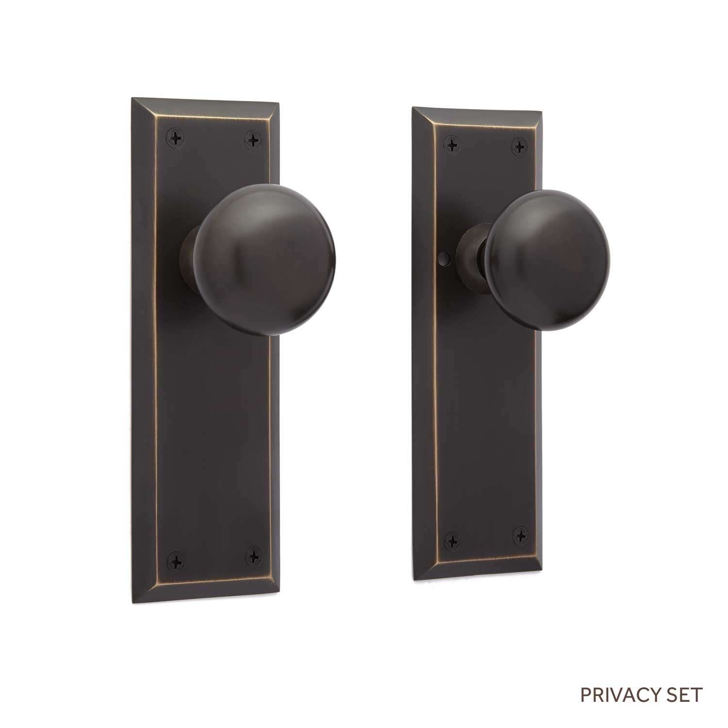 Door Knobs With Square Backplate
