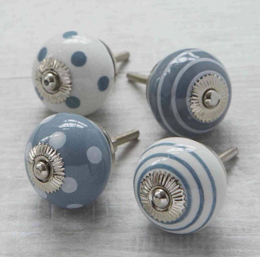 French Grey Door Knobs