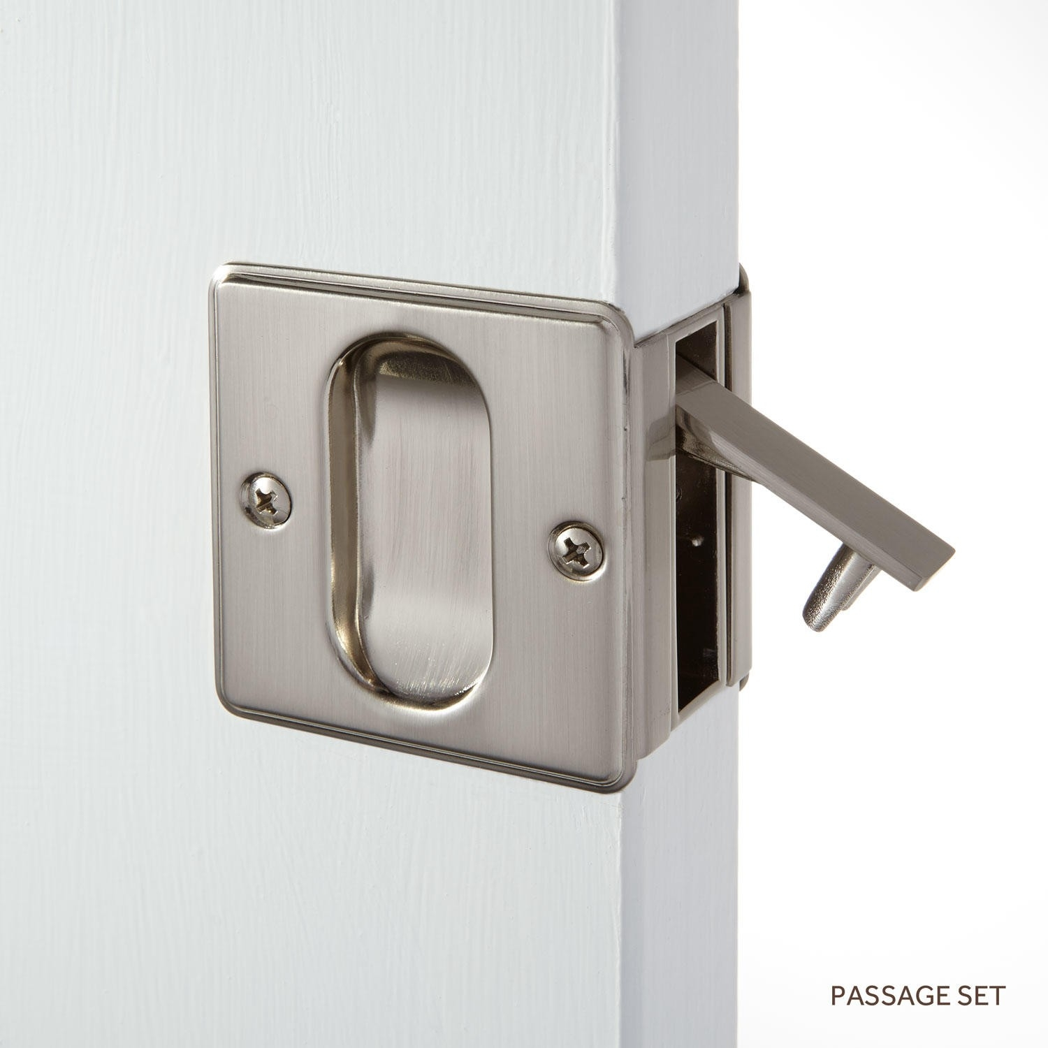 Adding A Lock To A Pocket Door