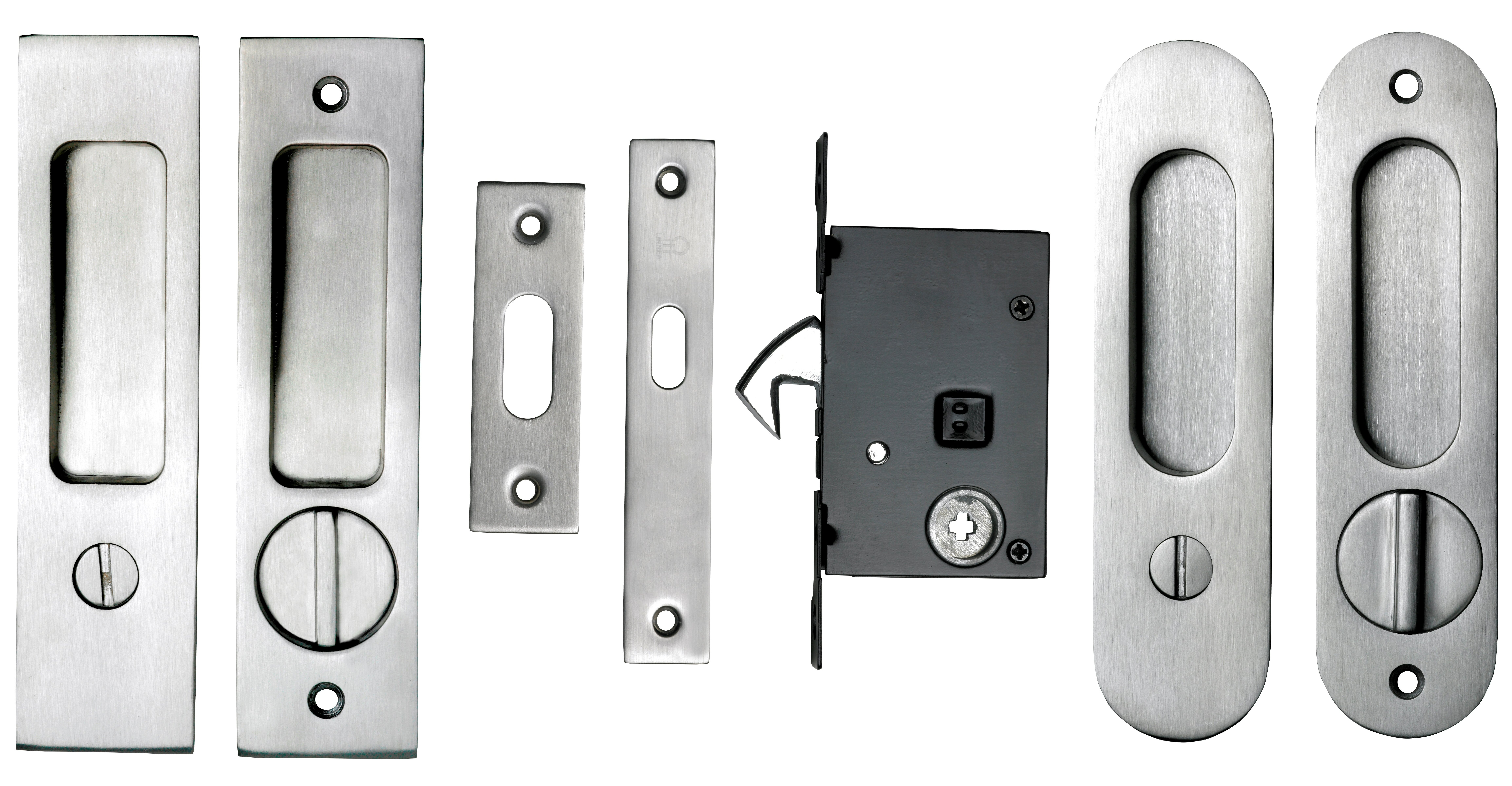 Baldwin Pocket Door Lock