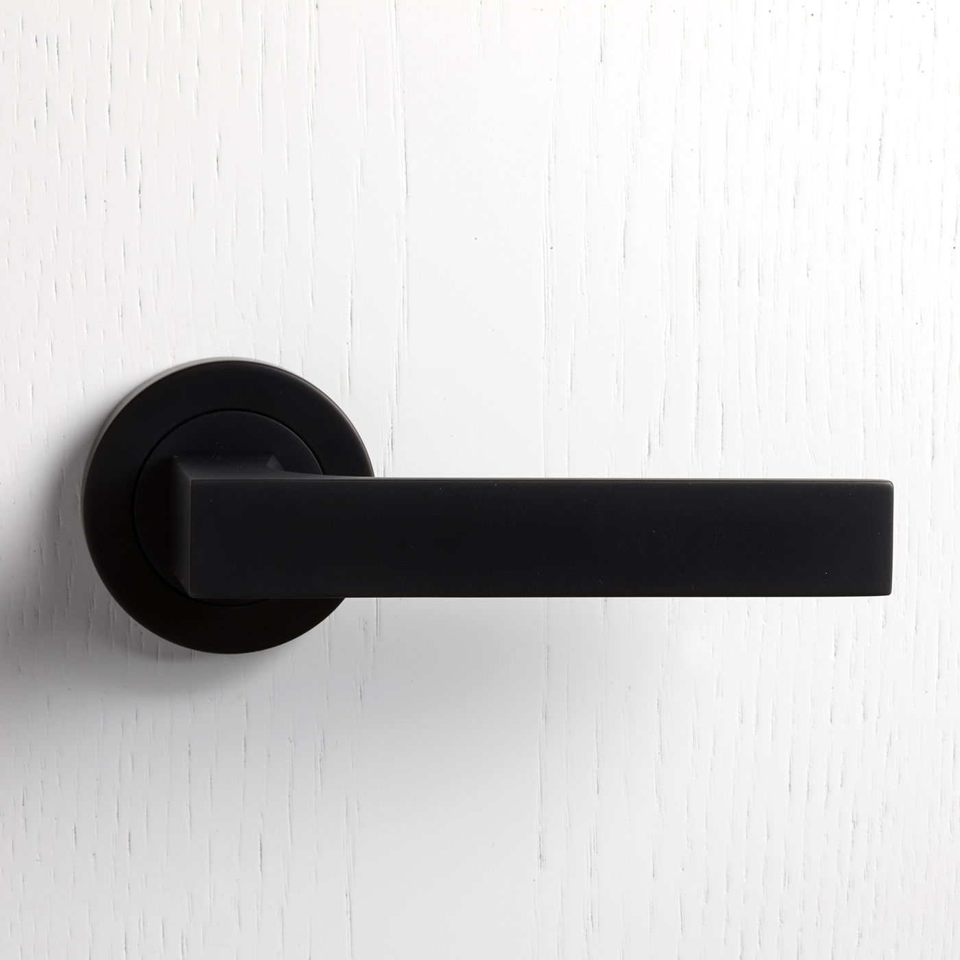 Black Matte Interior Door Knobs