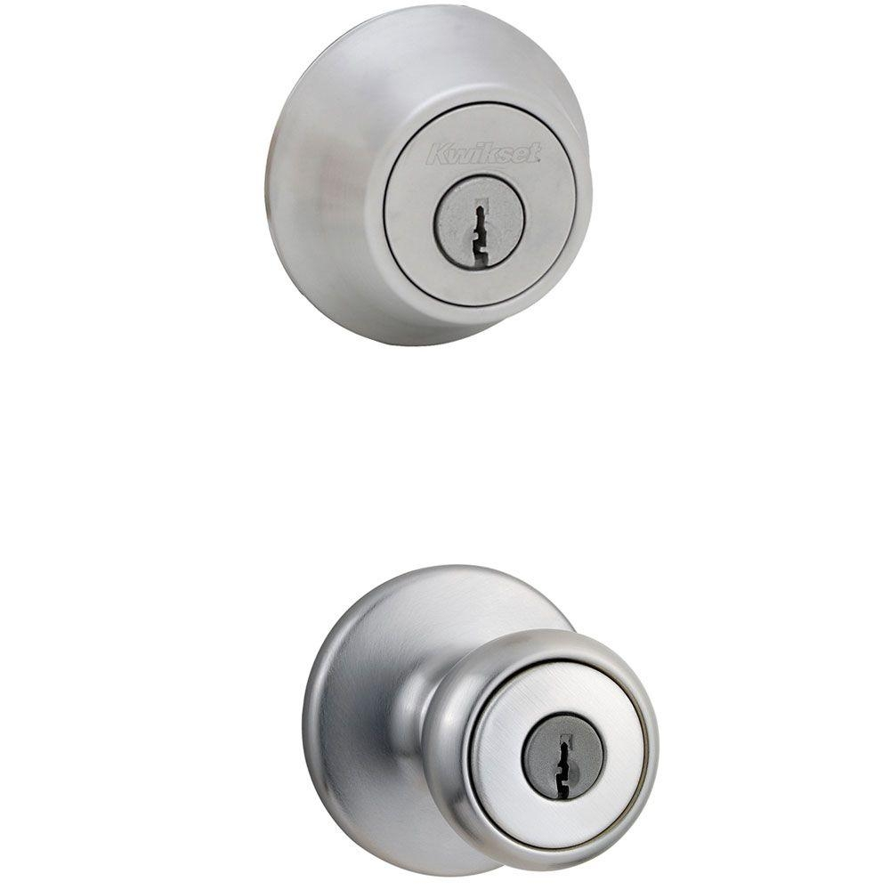 Door Knob And Deadbolt 4 Pack