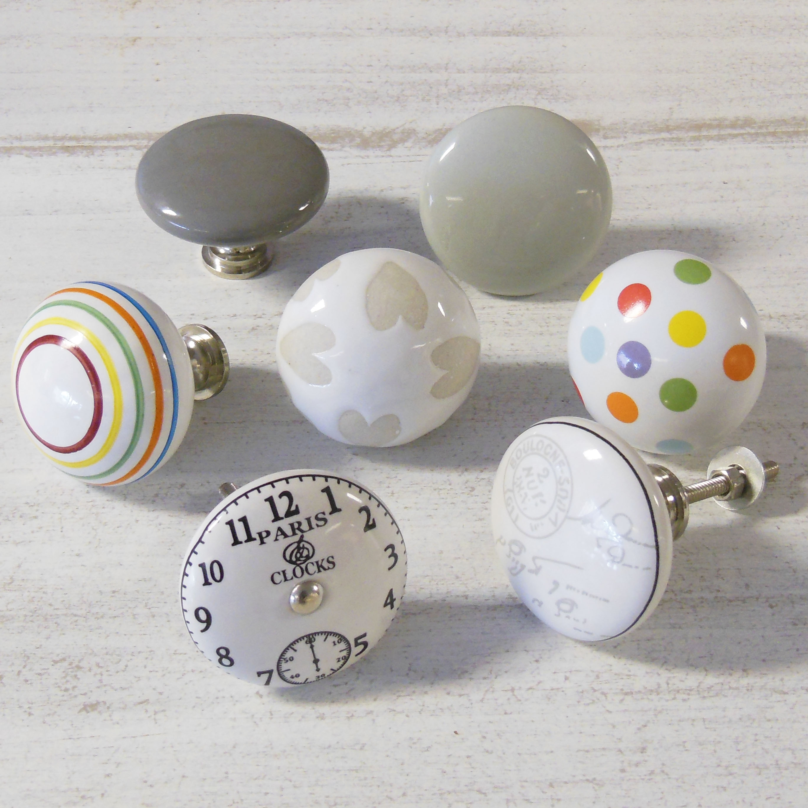 Large Porcelain Door Knobs