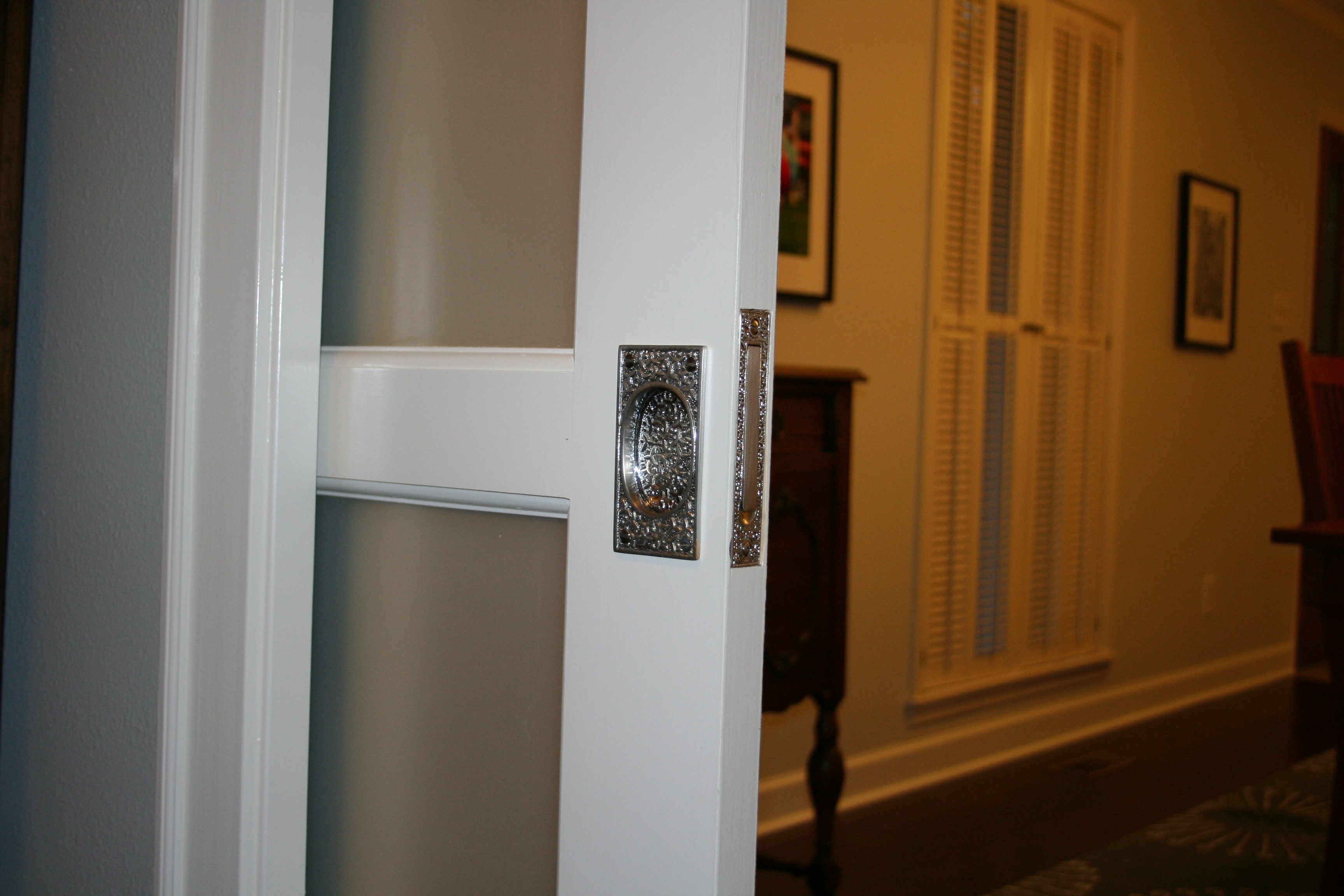 Pocket Door Handle Ideas
