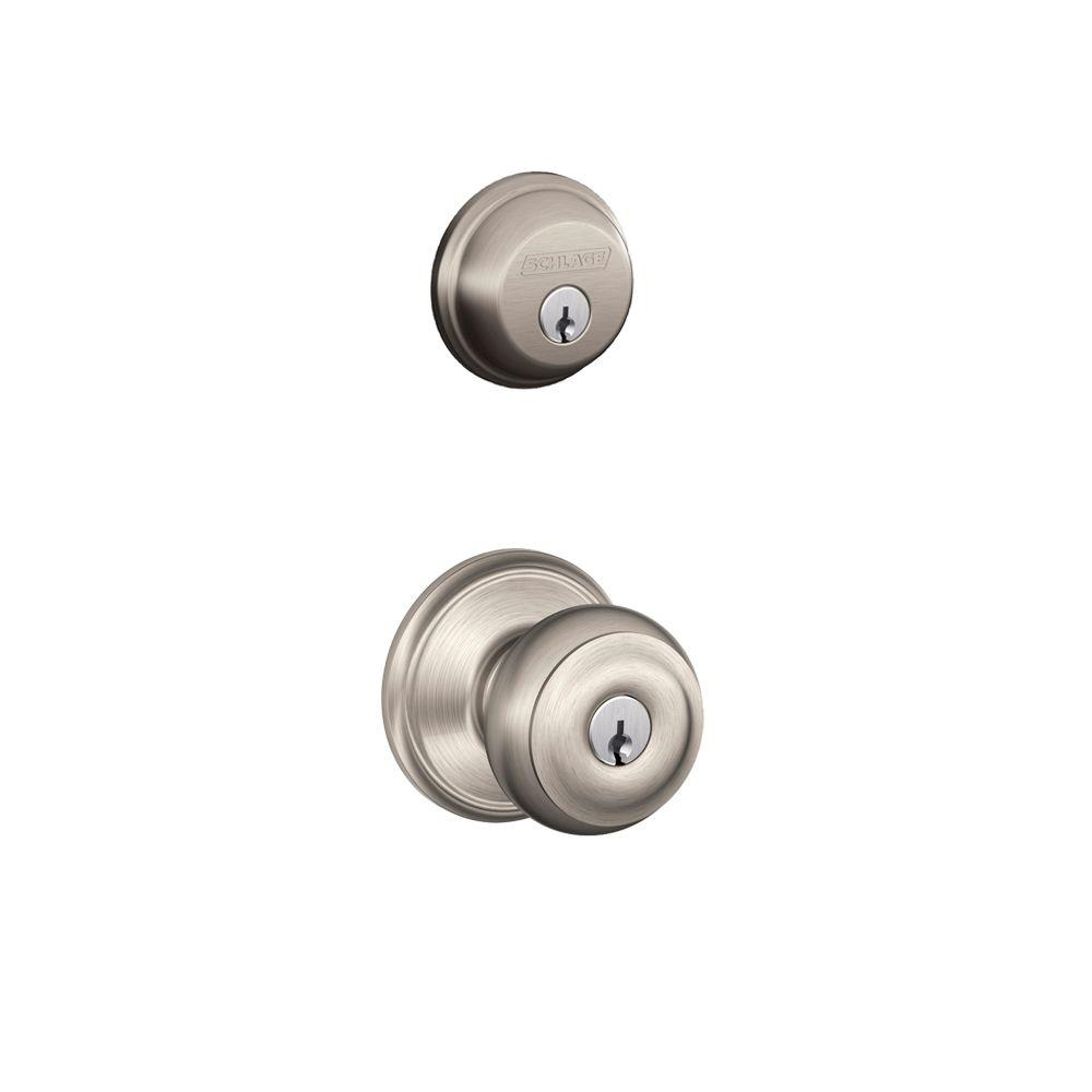 Schlage Deadbolt And Door Knob Set