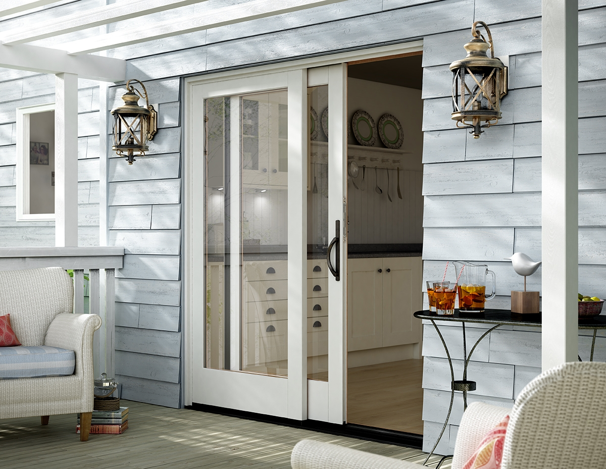 Sliding Pocket Doors Exterior