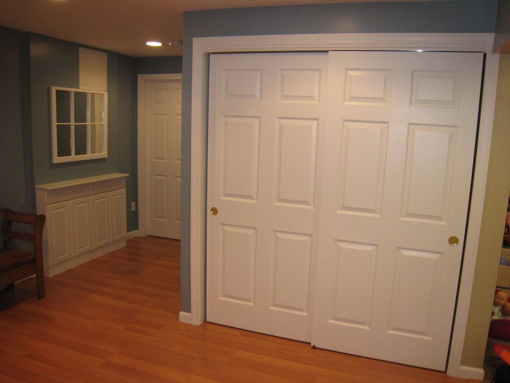 Permalink to White 6 Panel Pocket Door