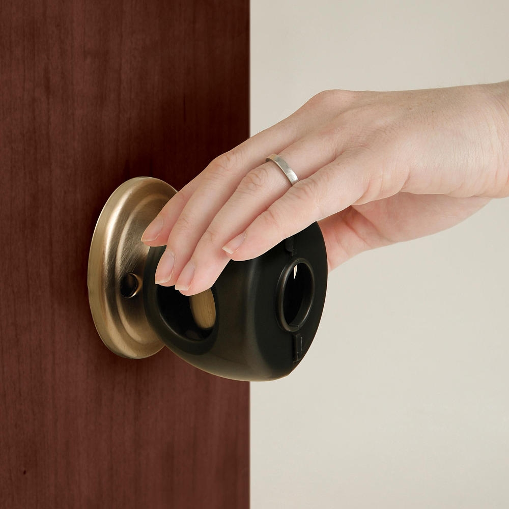 Egg Shaped Door Knob Safety Covers