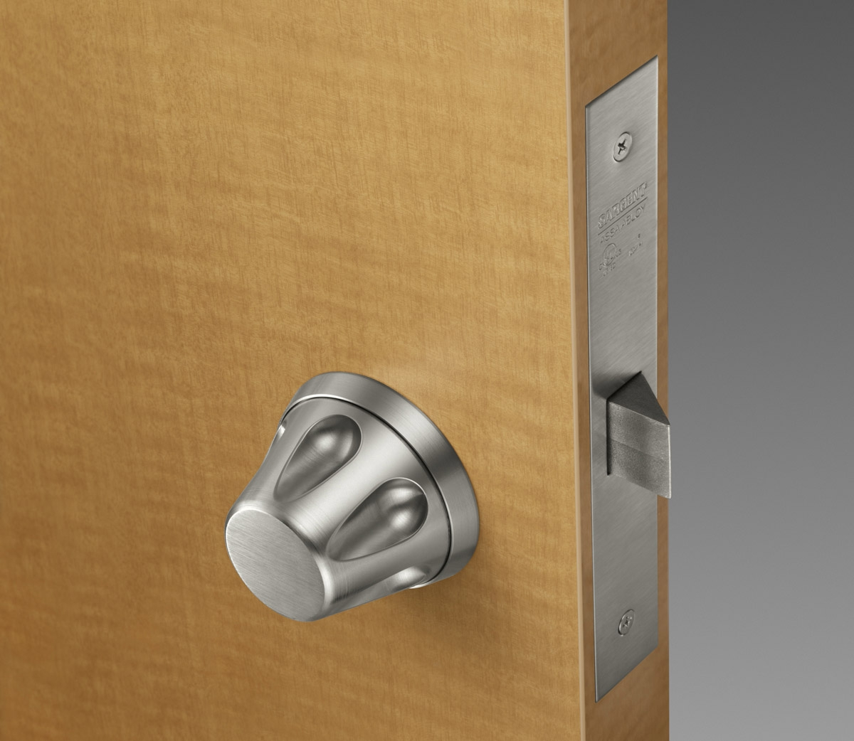 Low Profile Bathroom Door Knobs