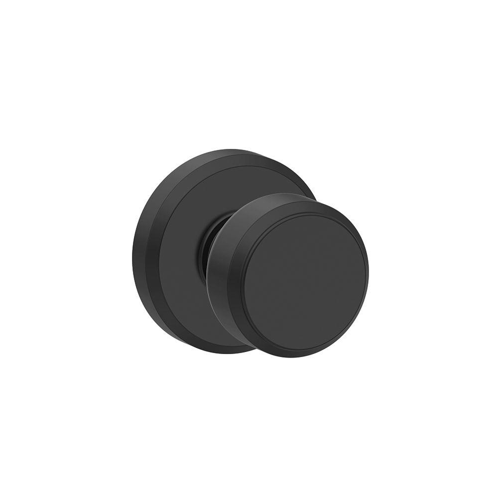 Matte Black Privacy Door Knobs
