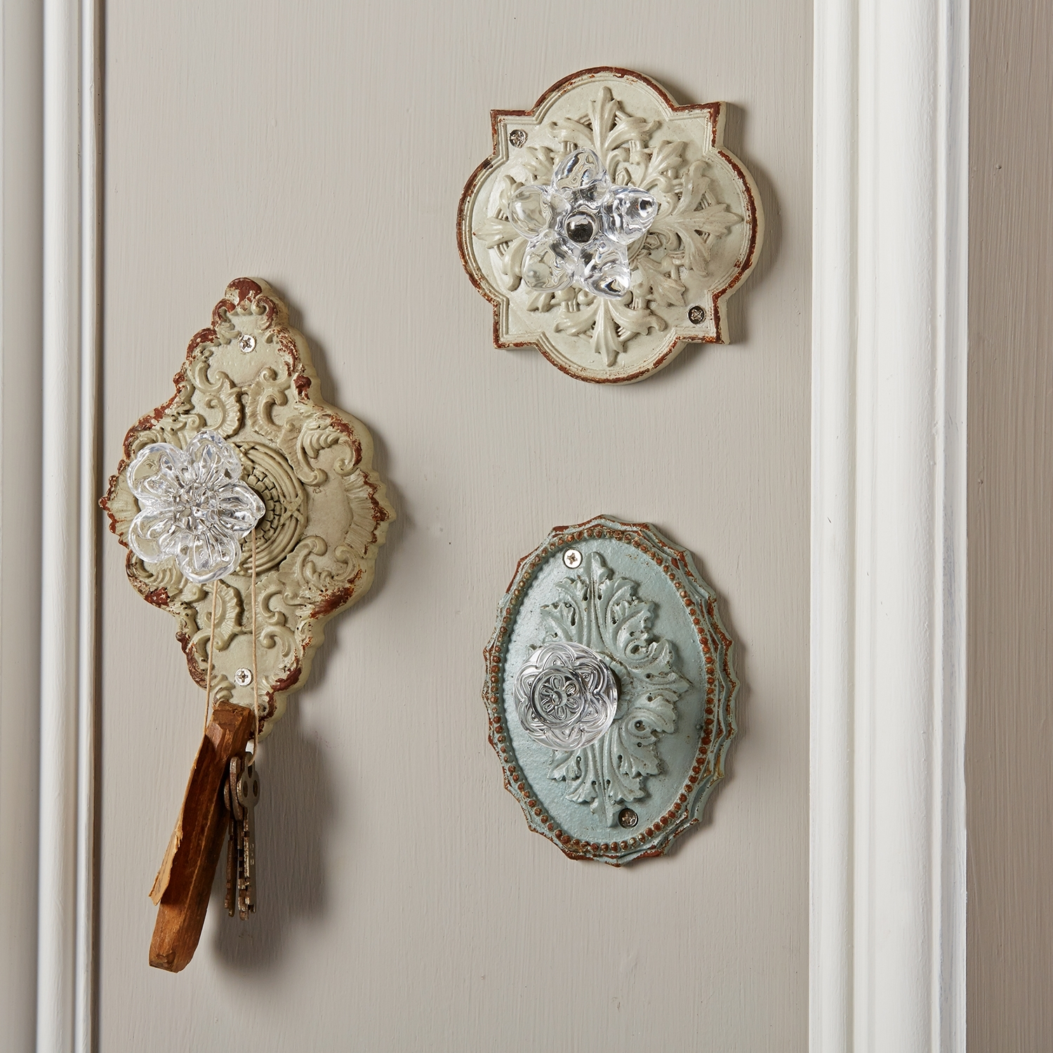 Permalink to Antique Door Knob Hooks