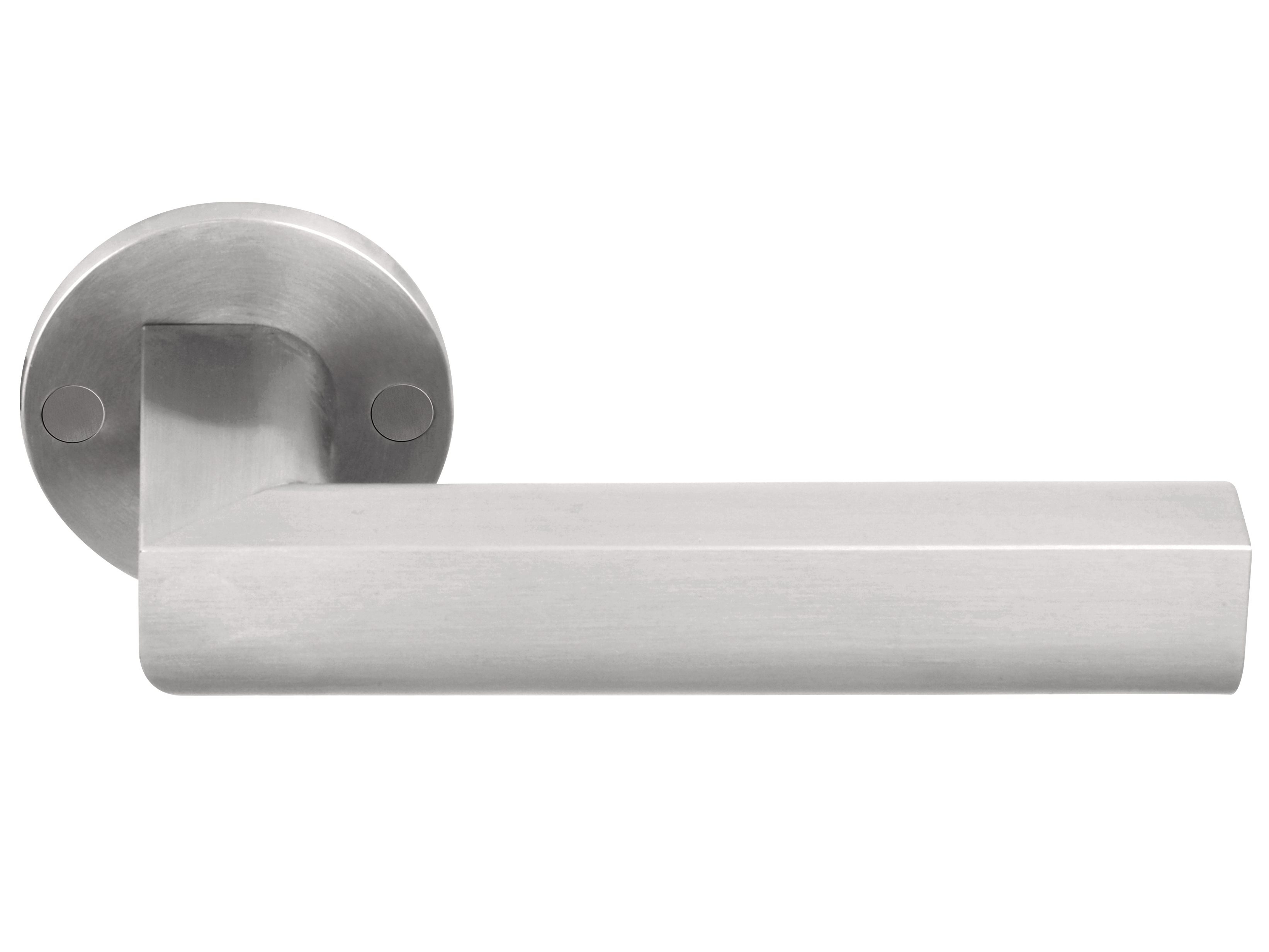 Brushed Stainless Door Knobs