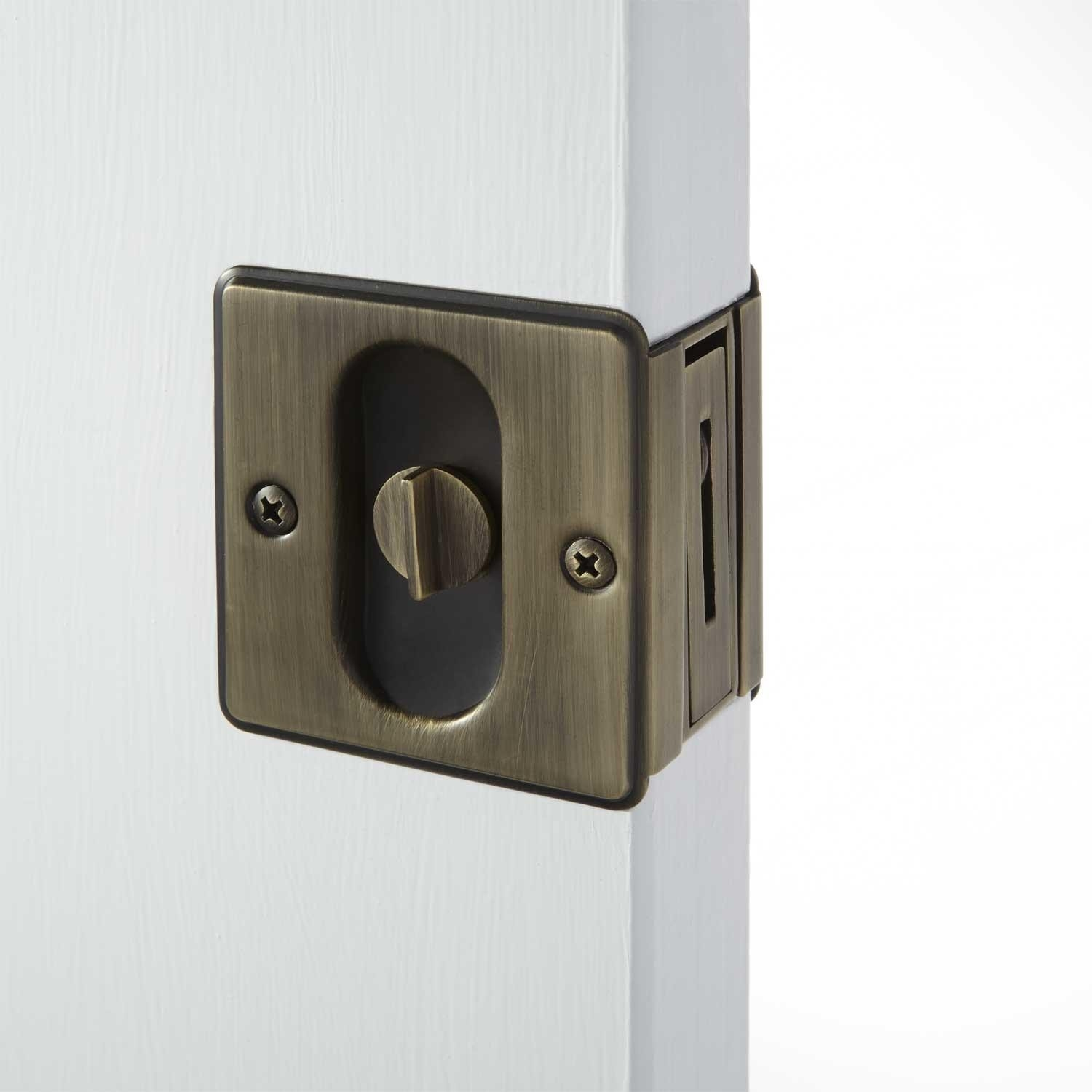 Permalink to Pocket Door Privacy Latch With Pull