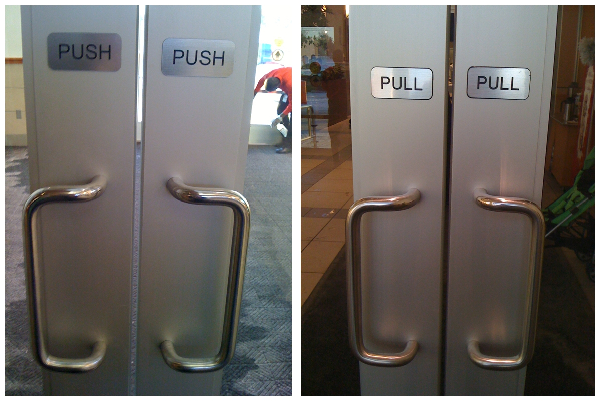 Push Pull Door Knobs