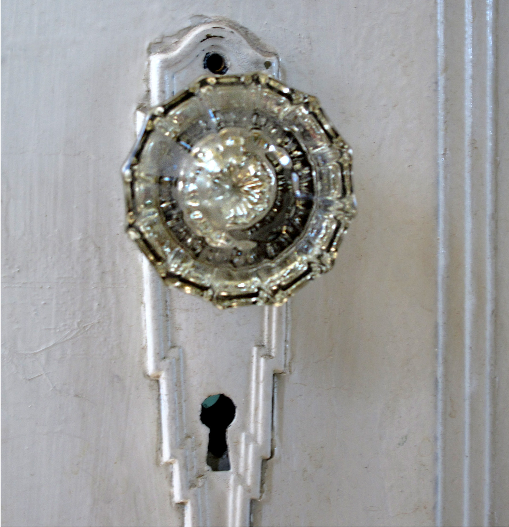 Permalink to 1920'S Crystal Door Knobs