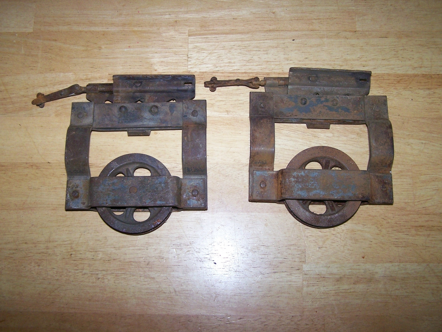 Antique Pocket Door Hangers