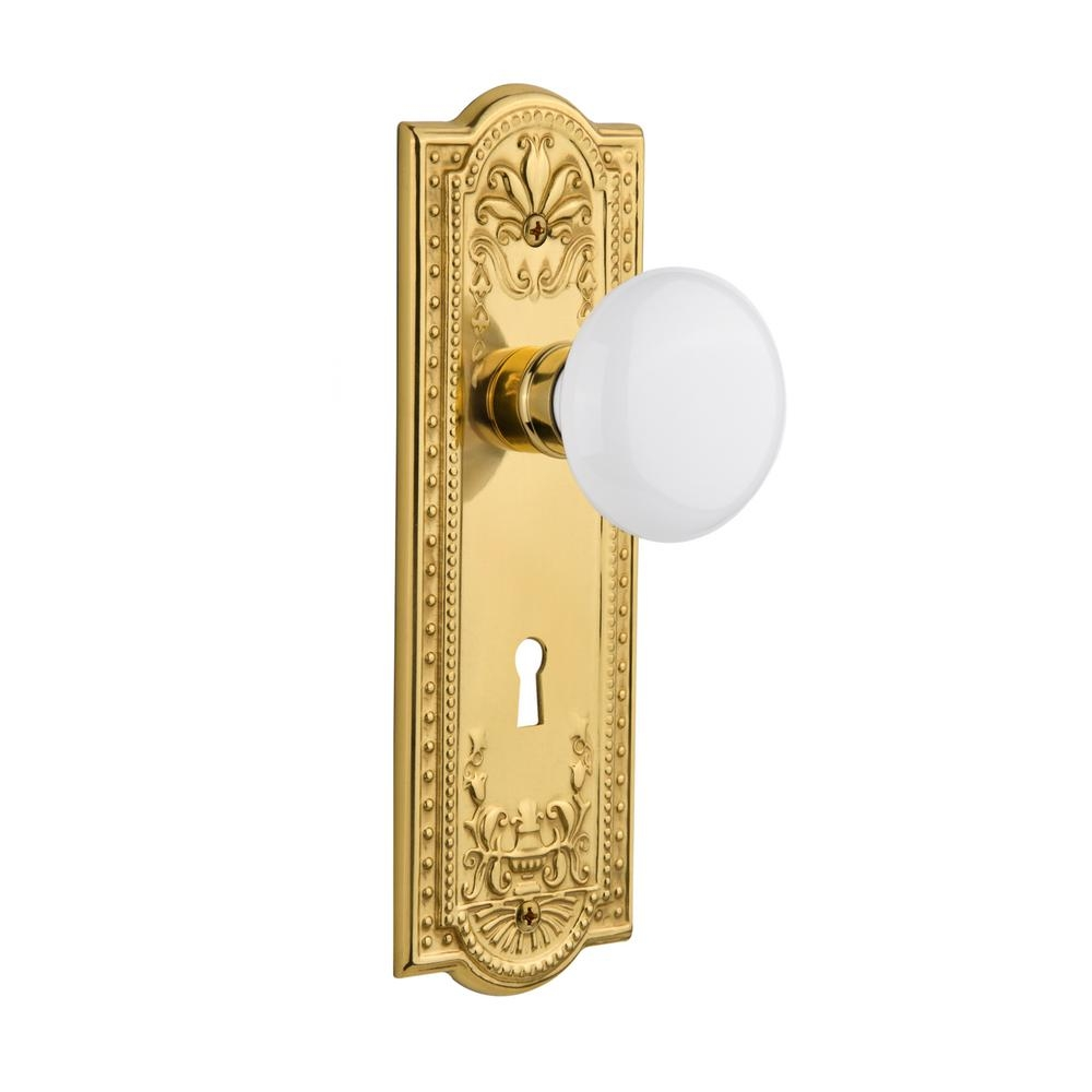 Brass Door Knob Scar Plate