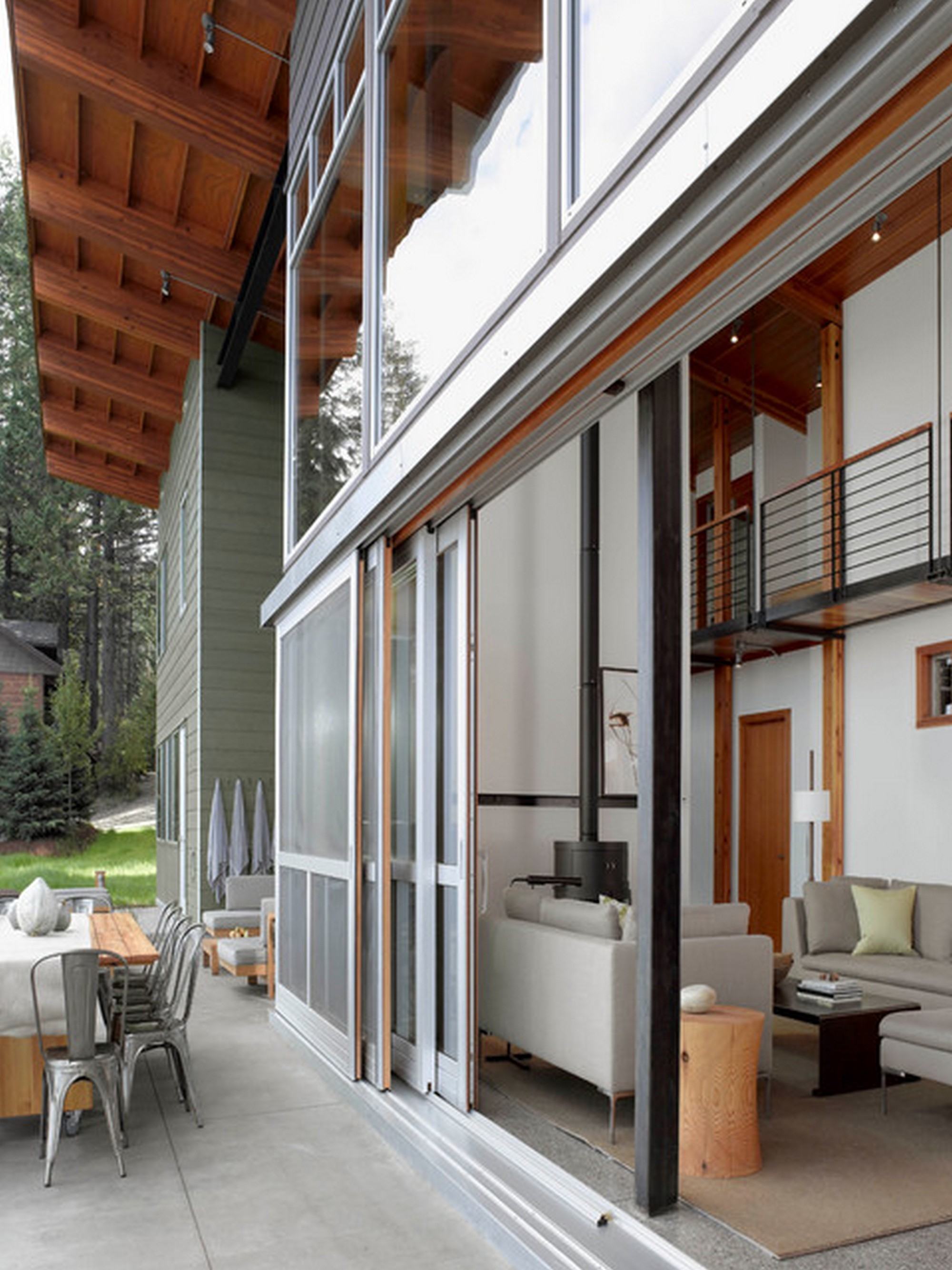 Exterior Pocket Sliding Glass Doors