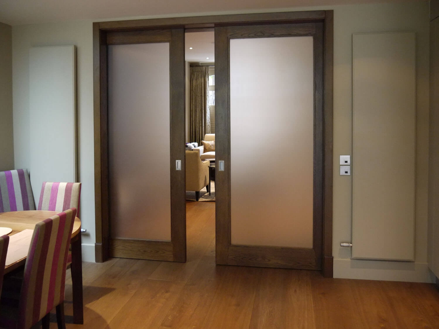 French Pocket Doors Glass