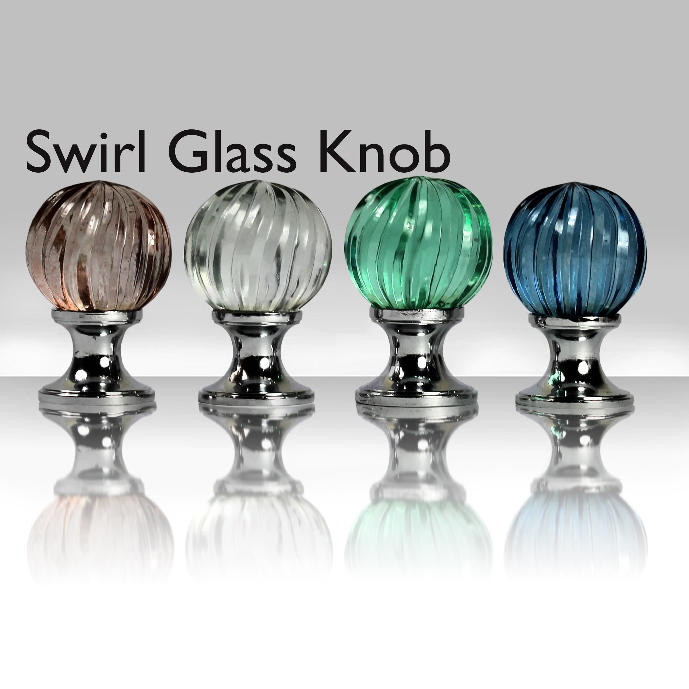 Homebase Door Knobs Glass