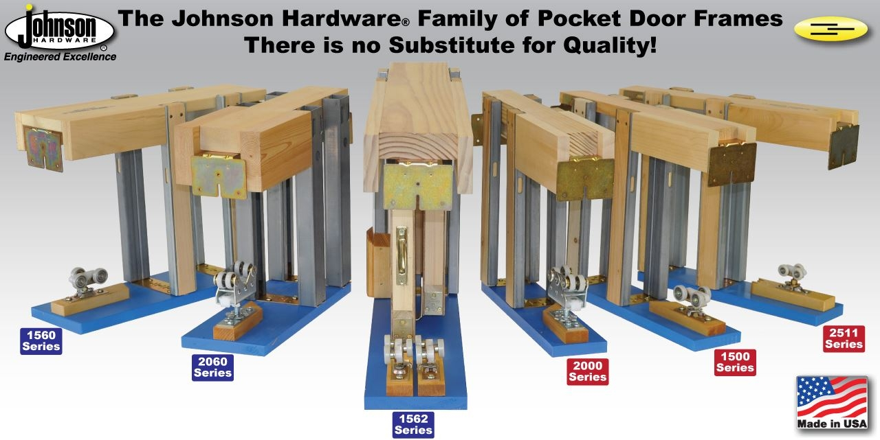 Johnson Pocket Door Hardware Kit