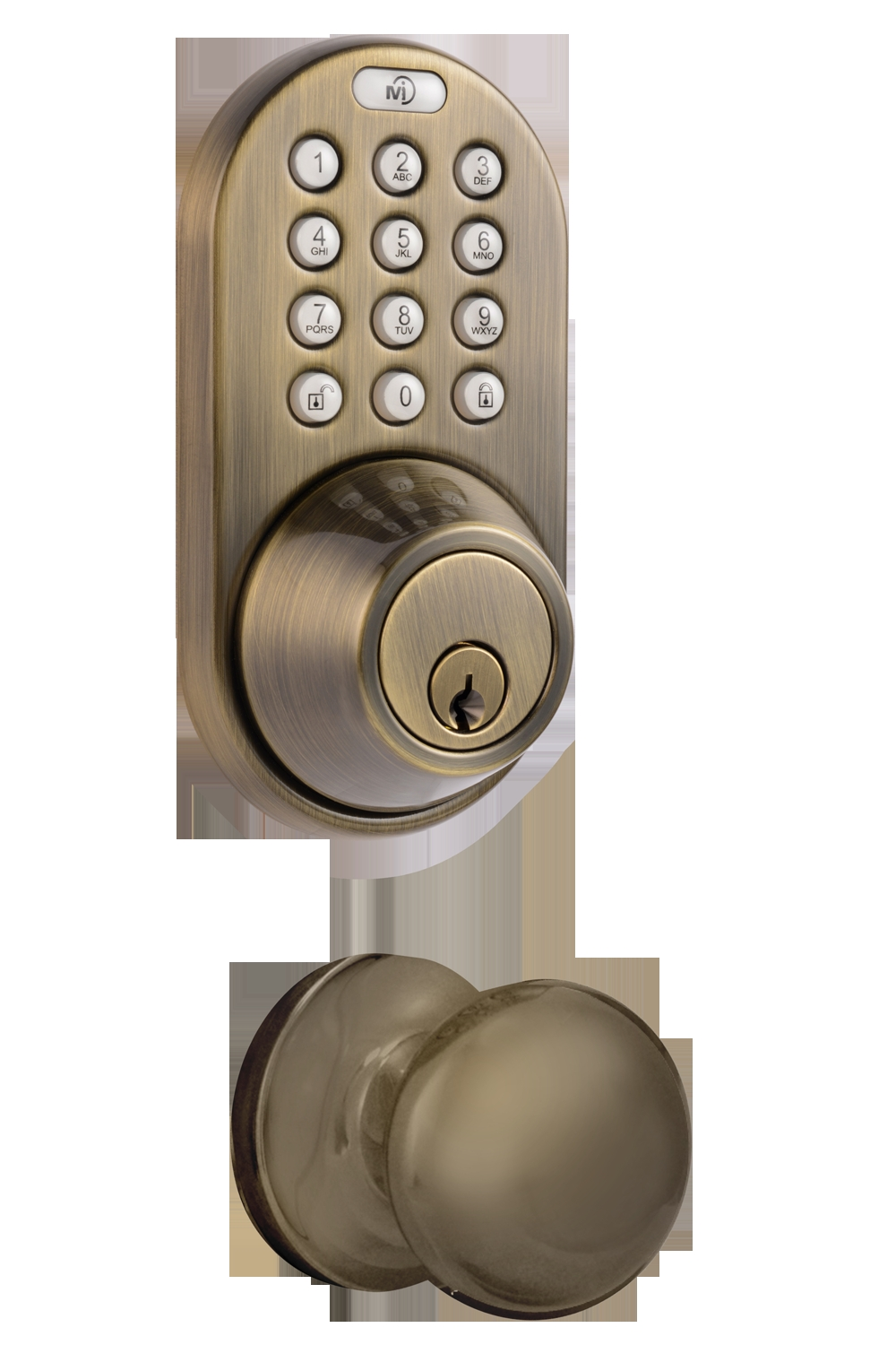 Keyless Combination Door Knob