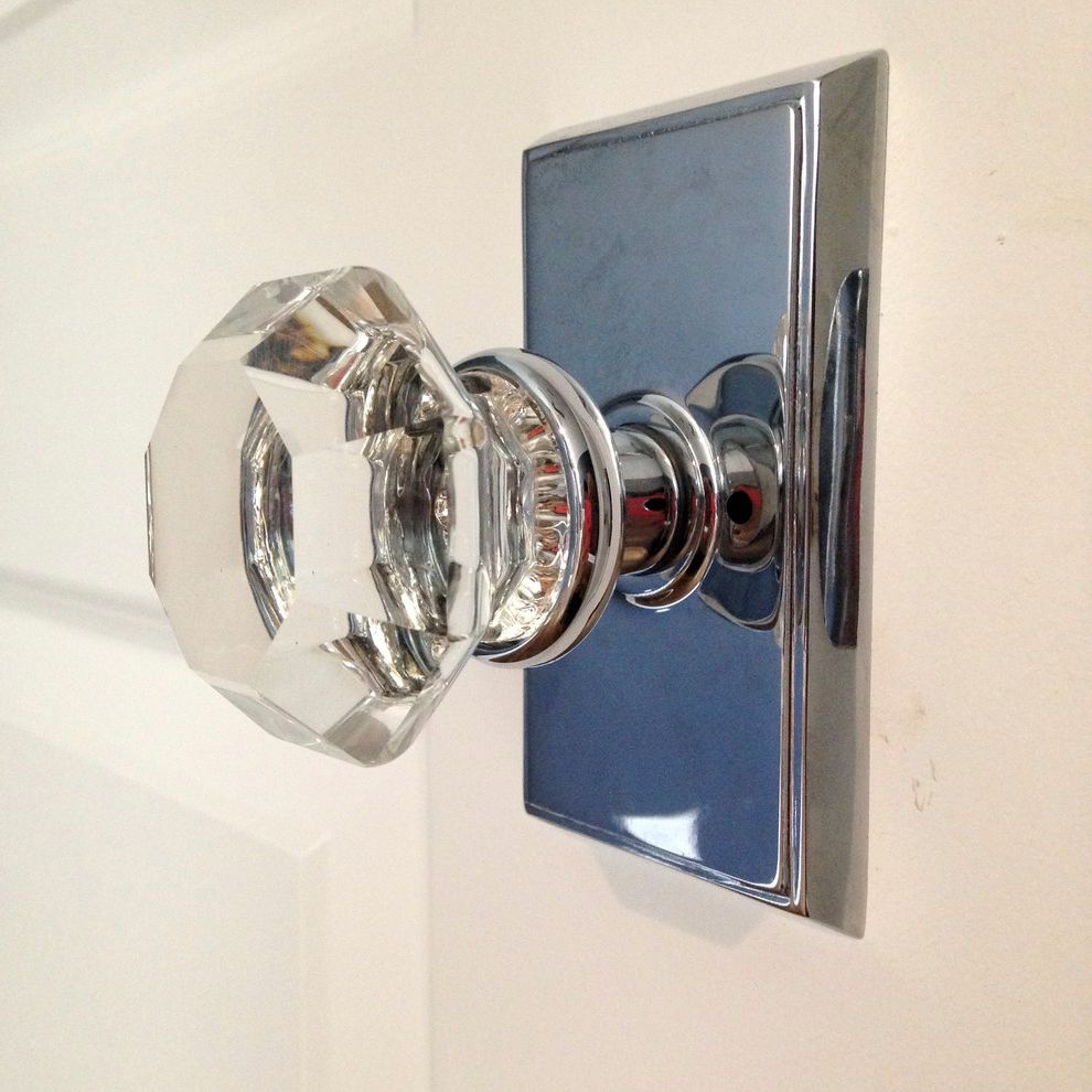 Modern Glass Door Knobs