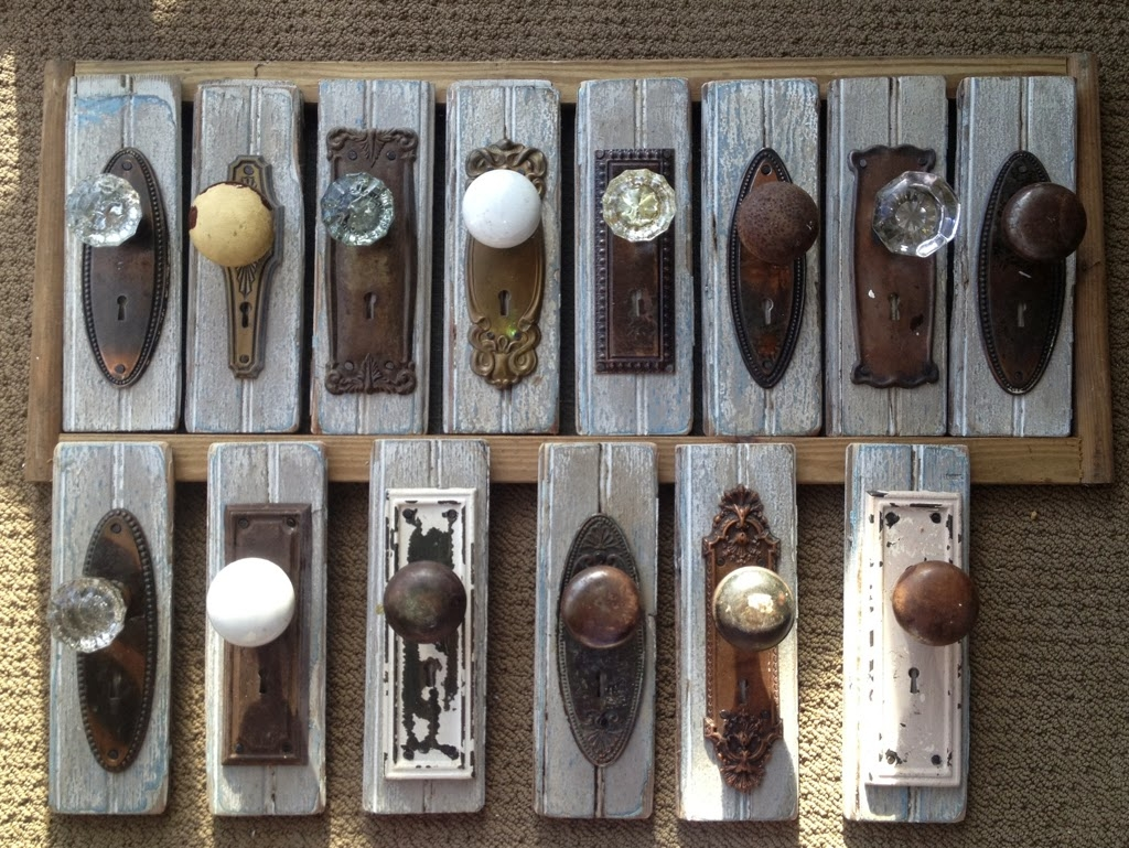 Permalink to Old Door Knobs As Hooks
