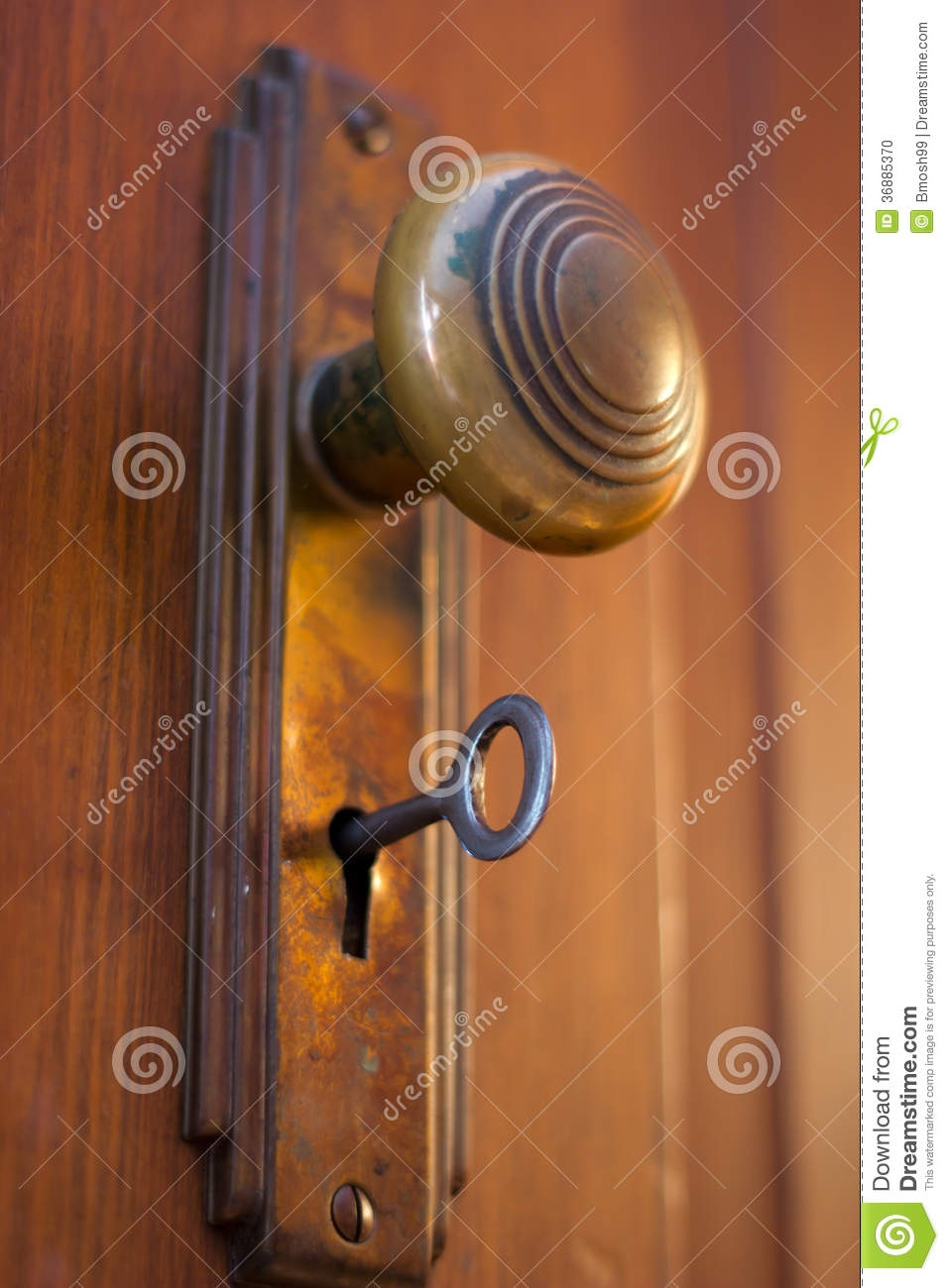 Old Fashioned Door Knobs With Key