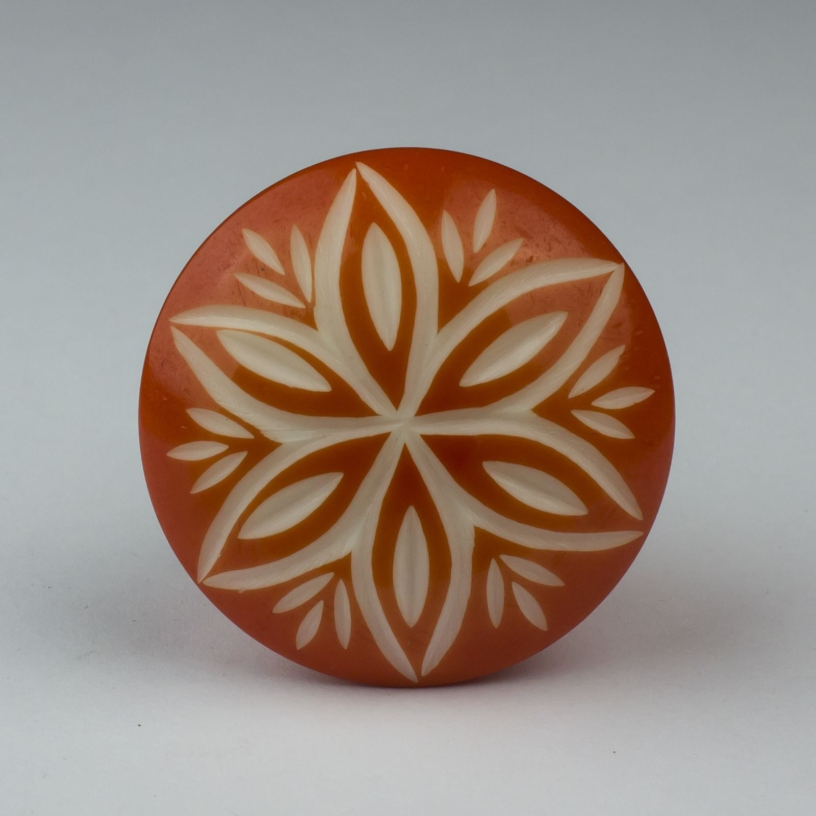 Orange Cupboard Door Knobs