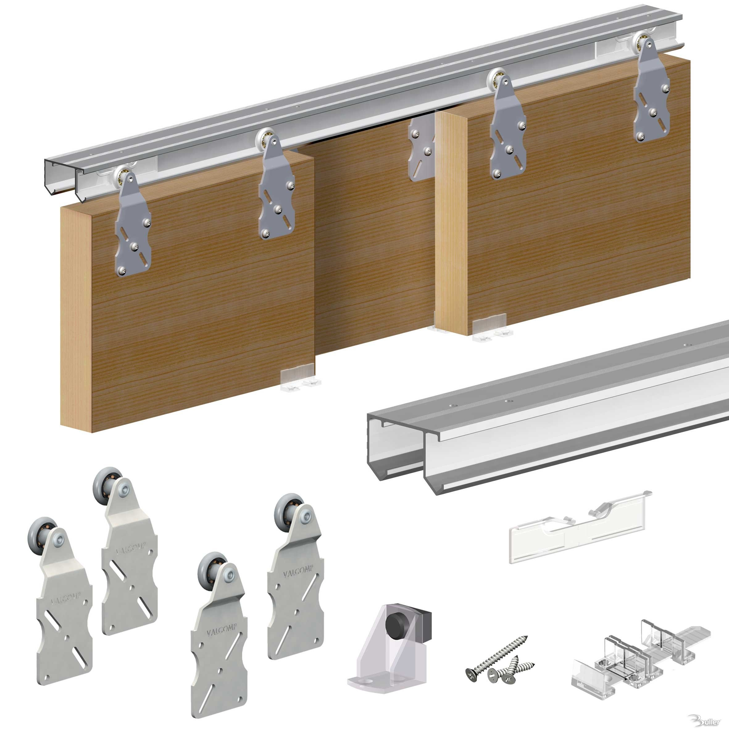 Pocket Door Slider Kit