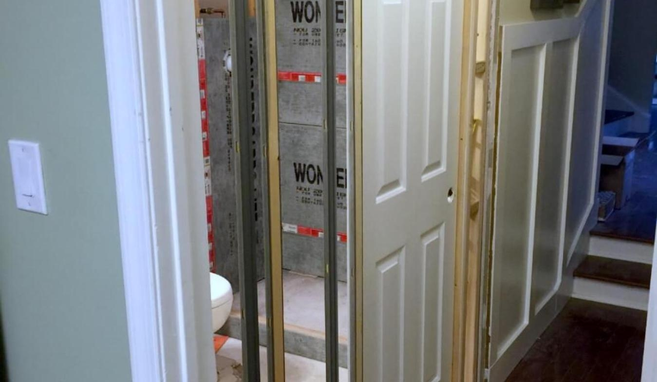 Power Sliding Pocket Doors