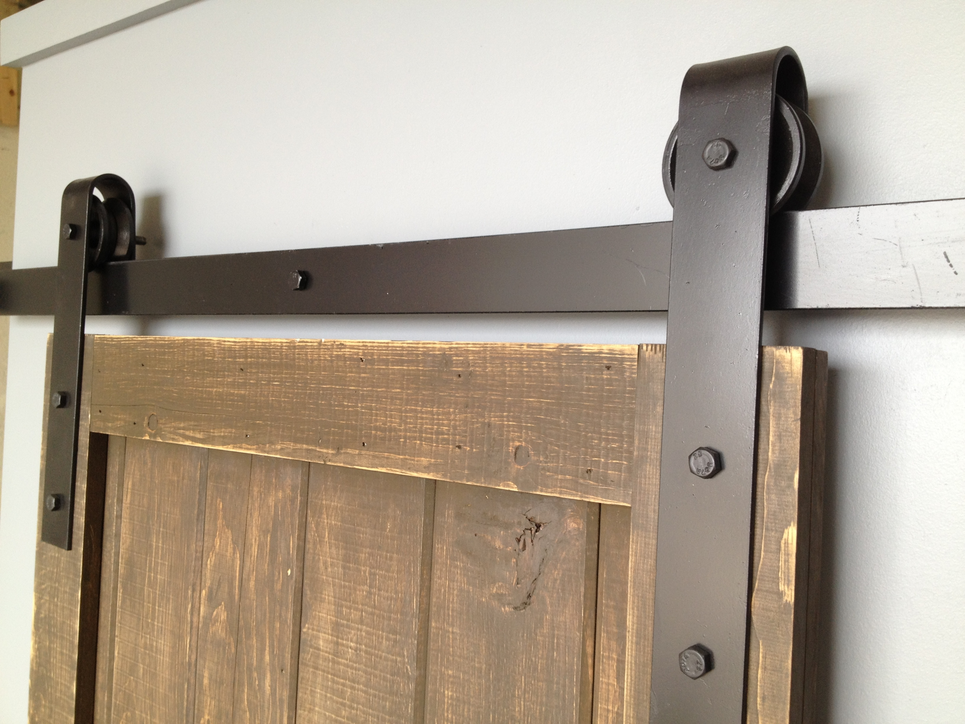 Rustic Pocket Door Handles