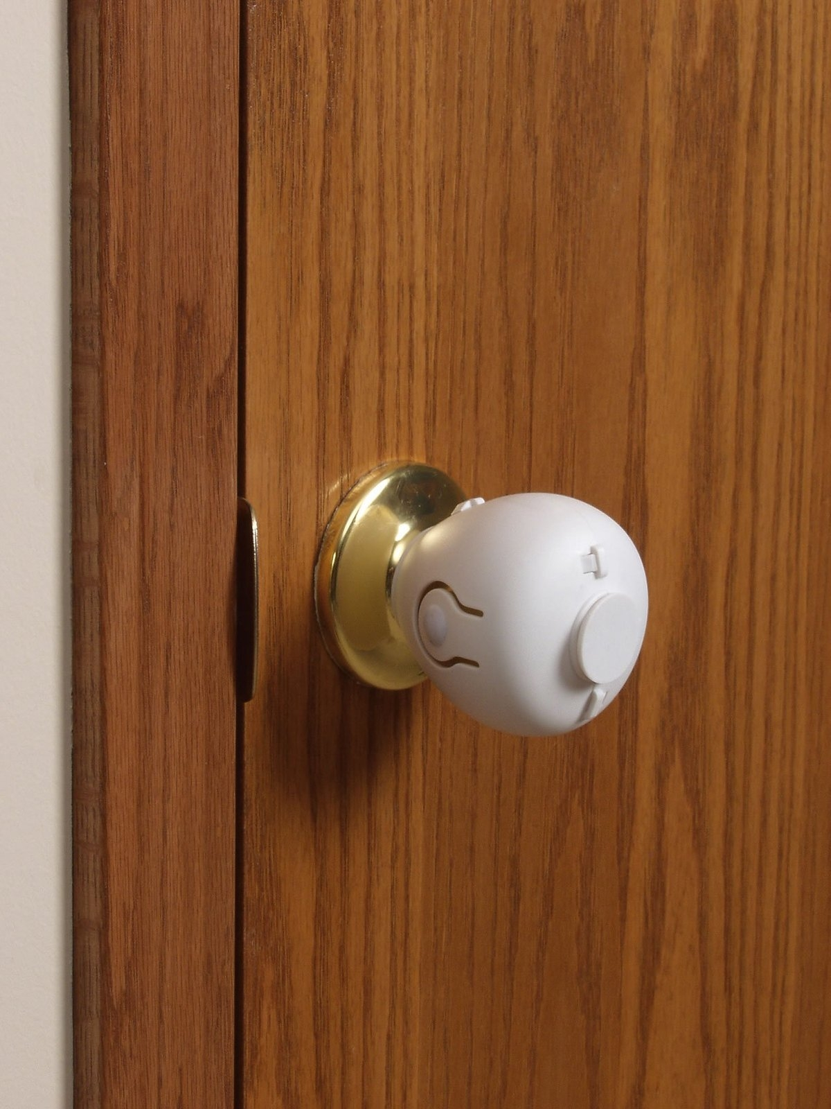 Safety Lock For Door Knob